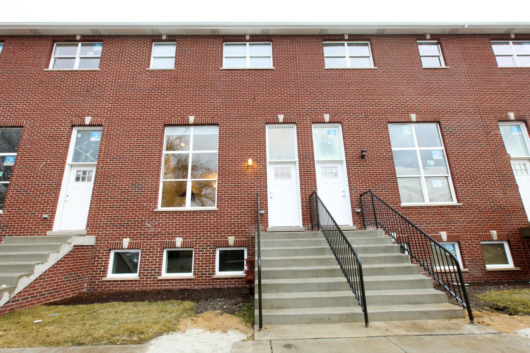 タウンハウス のために 売買 アット Parnell Place New Townhomes In Bridgeport 3857 S Parnell Avenue Bridgeport, Chicago, イリノイ, 60609 アメリカ合衆国