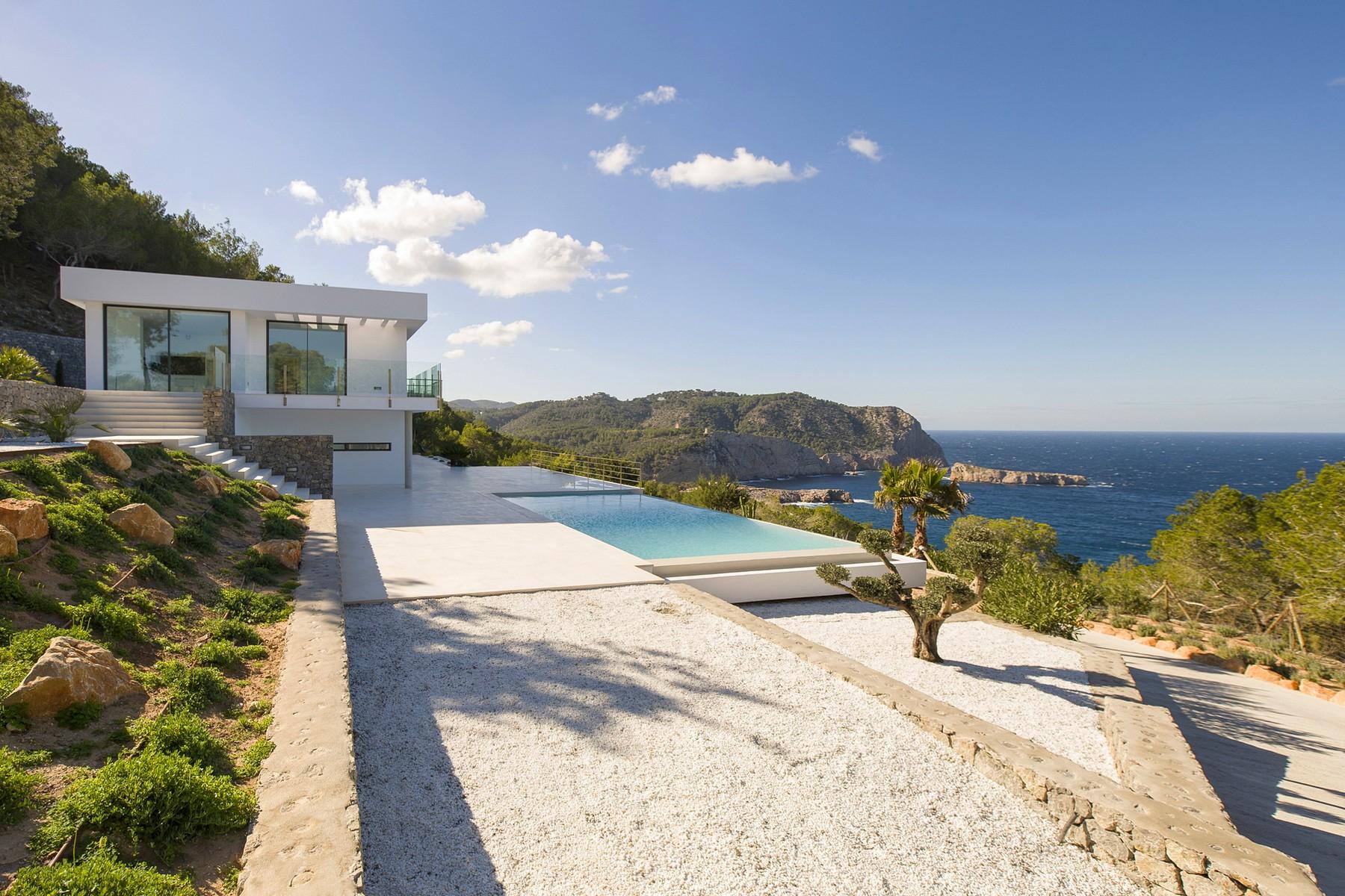Einfamilienhaus für Verkauf beim Neu Erbaute Villa Mit Meerblick In San Miguel Ibiza, Ibiza 07815 Spanien