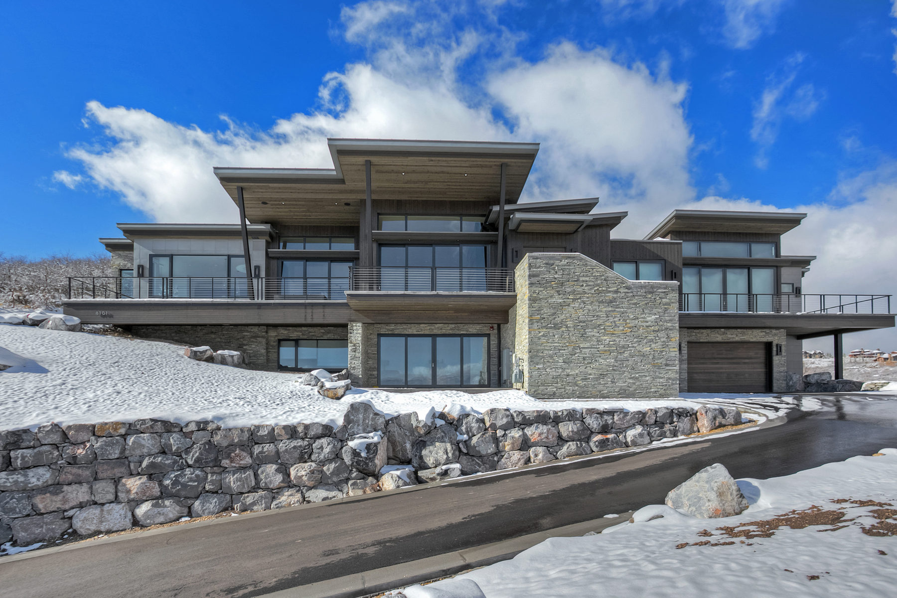 Single Family Home for Sale at Mountain Modern Masterpiece! 8101 N Sunrise Loop Park City, Utah, 84098 United States