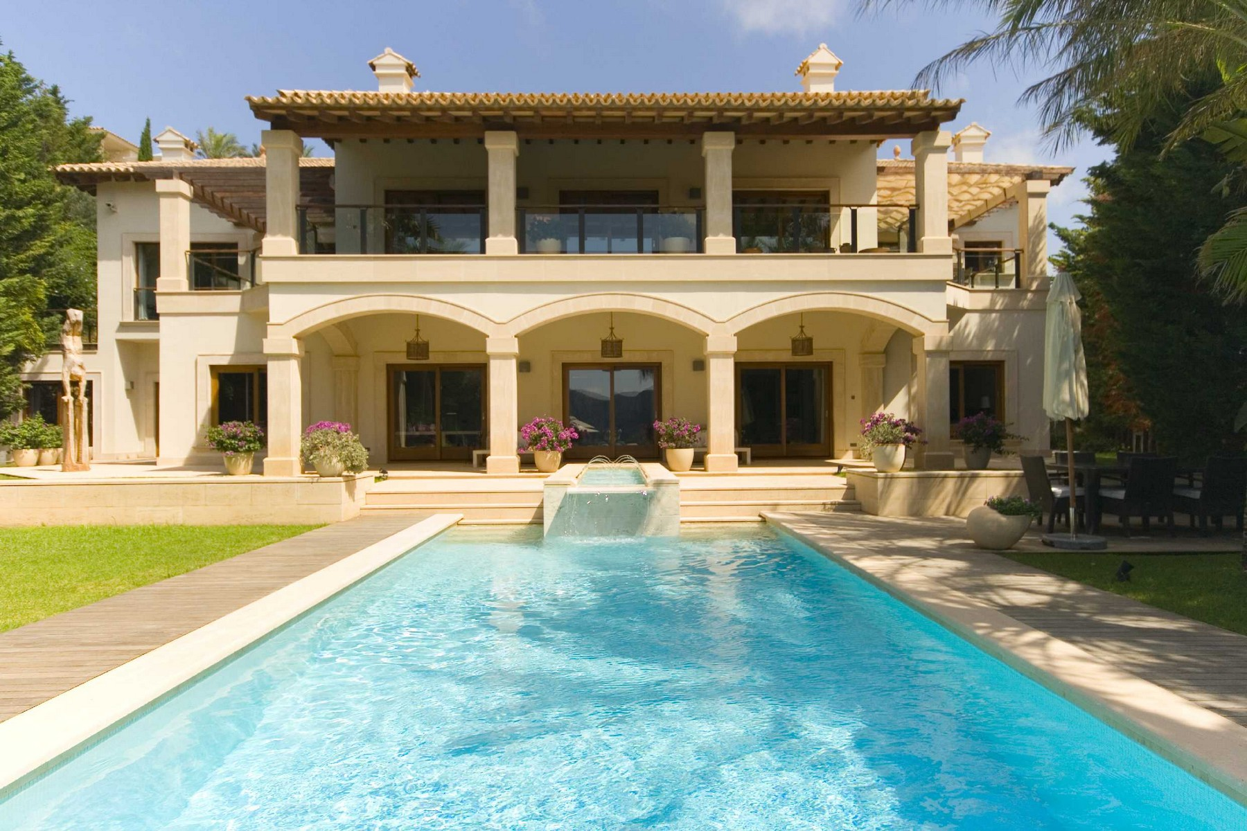 sales property at Luxury villa in Las Brisas, Port Andratx