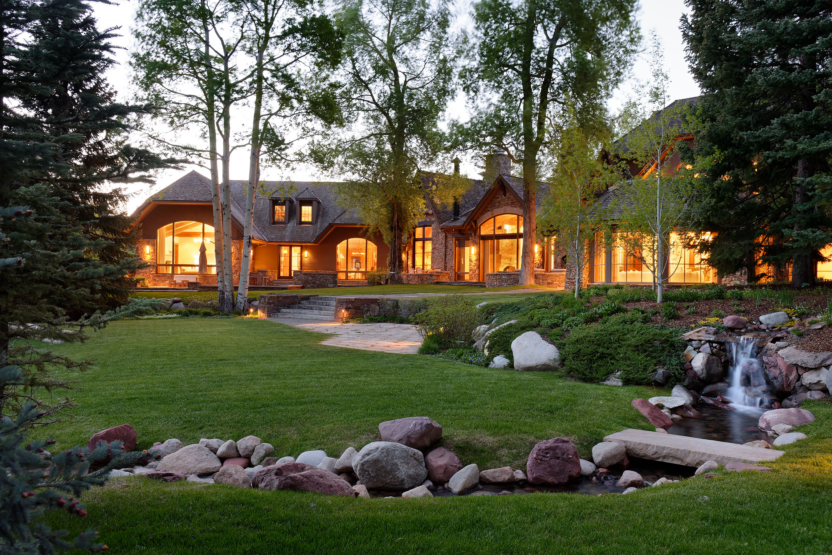 Single Family Home for Sale at Aspen Highlands Estate 36 Glen Garry Drive Aspen, Colorado, 81611 United States