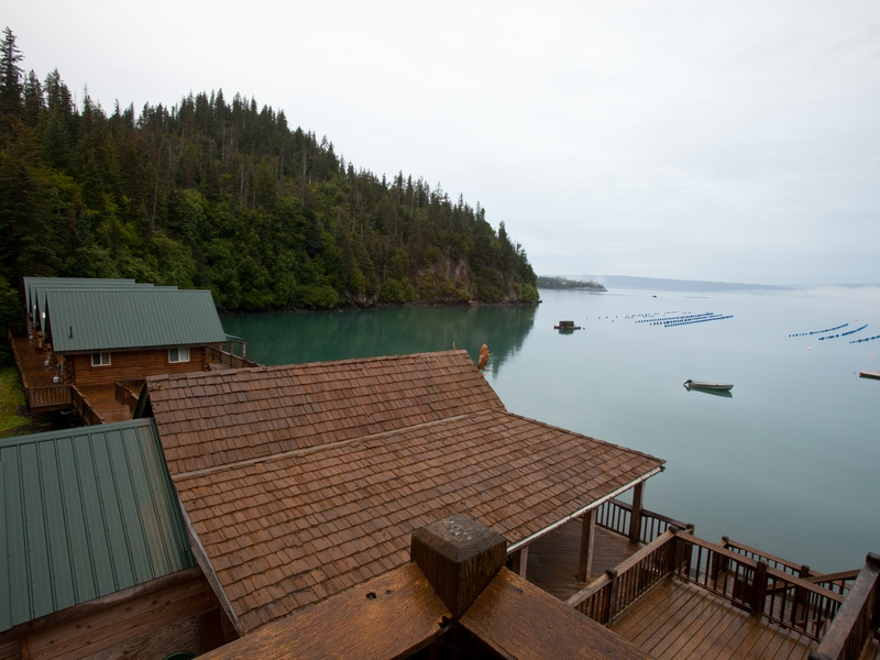 Property Of A Private Halibut Cove Resort