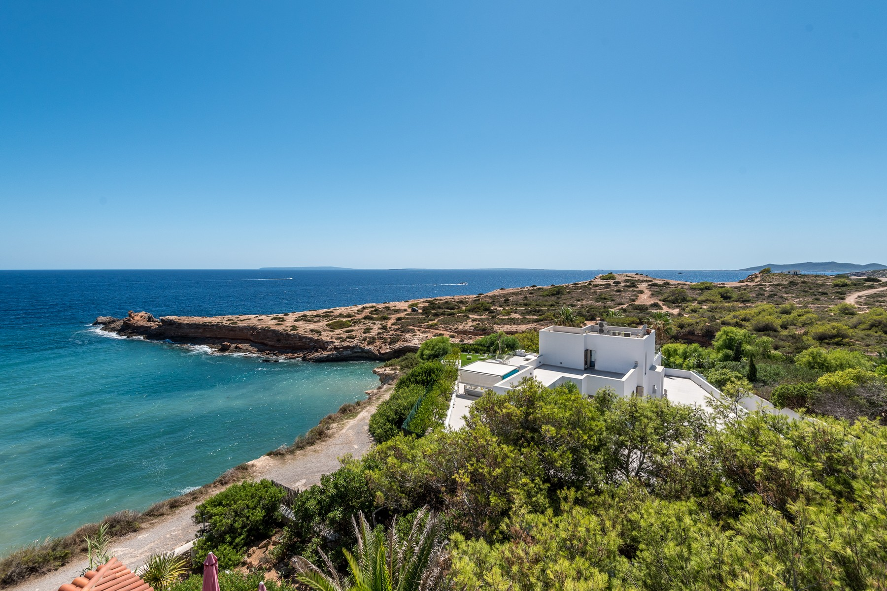 sales property at Front Line Villa near Ibiza Town