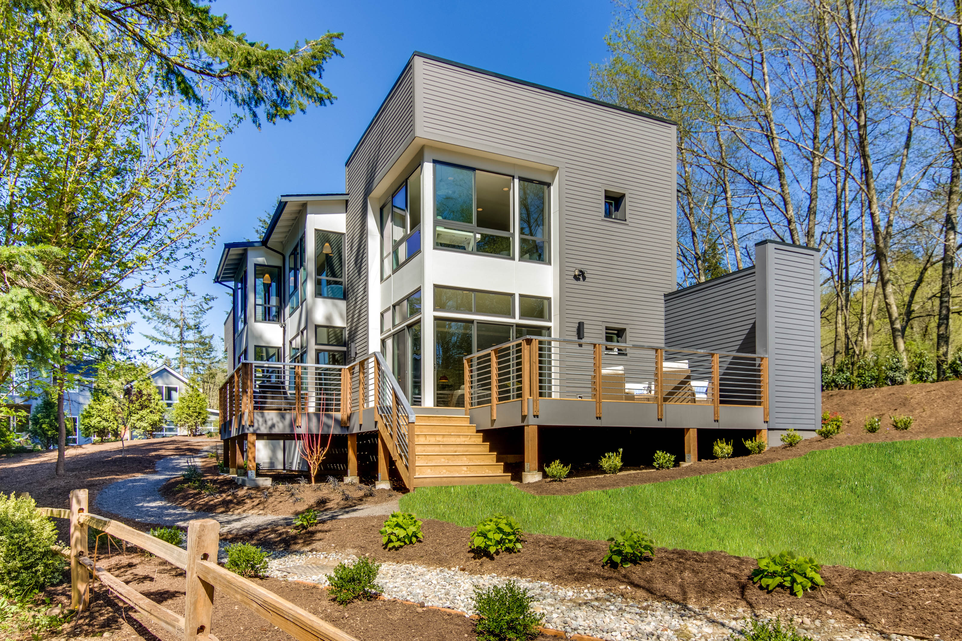 Single Family Home for Sale at Urban in the Country 4941 Lynwood Center Rd NE Bainbridge Island, Washington, 98110 United States