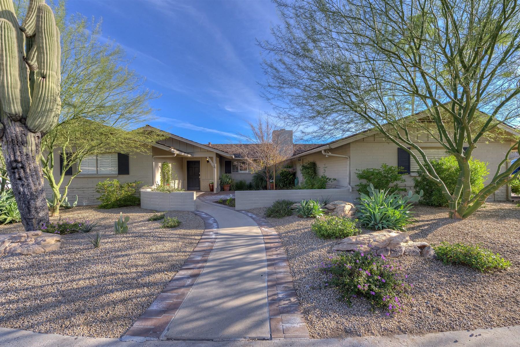 Maison unifamiliale pour l Vente à Well Maintained Home in Fabulous Paradise Valley Location 5635 E Lincoln Drive #34 Paradise Valley, Arizona 85253 États-Unis