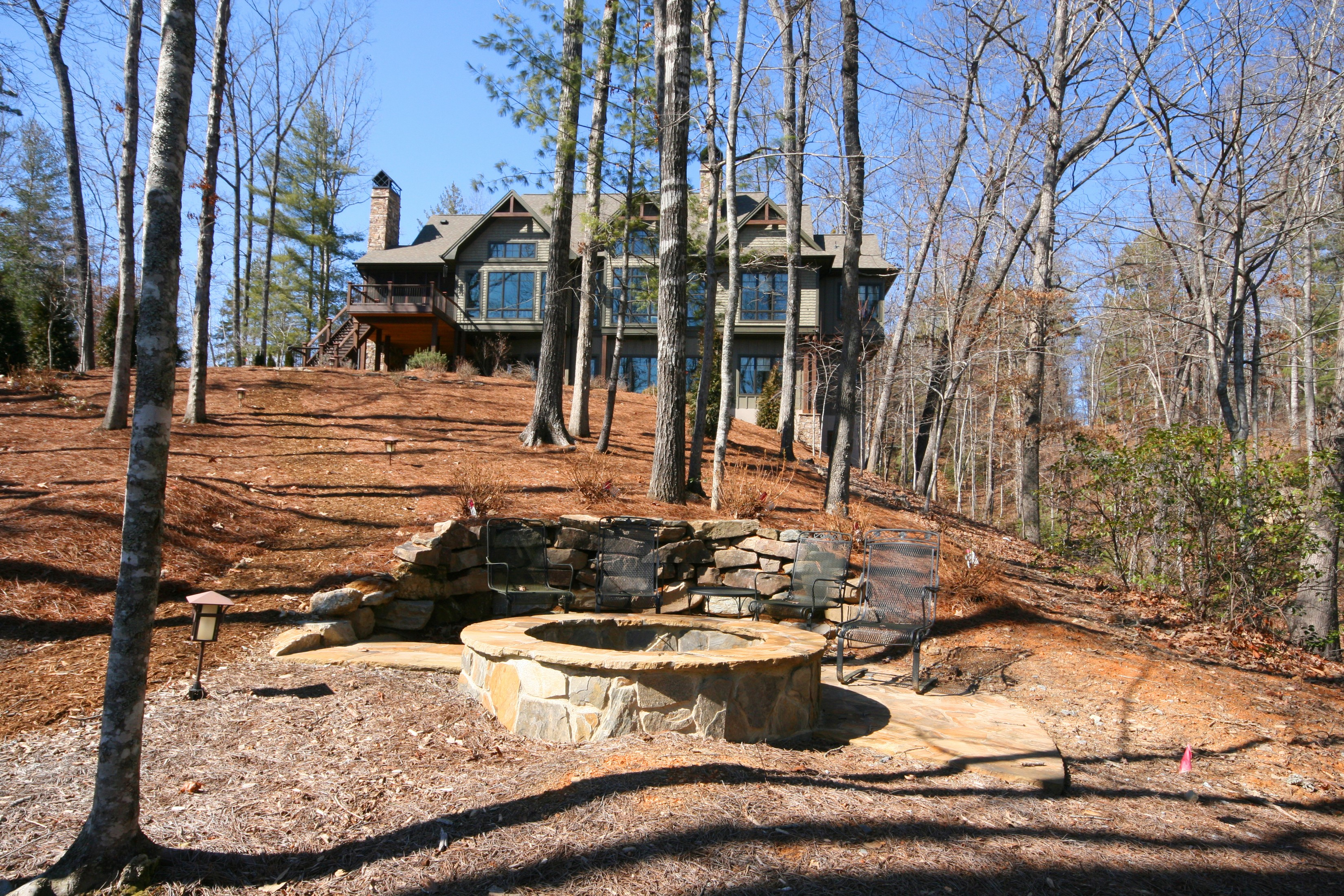 Single Family Home for Sale at Sublime Home on Prestige Waterfront Lot With State Park Views 206 Feather Bells Lane The Cliffs At Keowee Vineyards, Sunset, South Carolina, 29685 United States