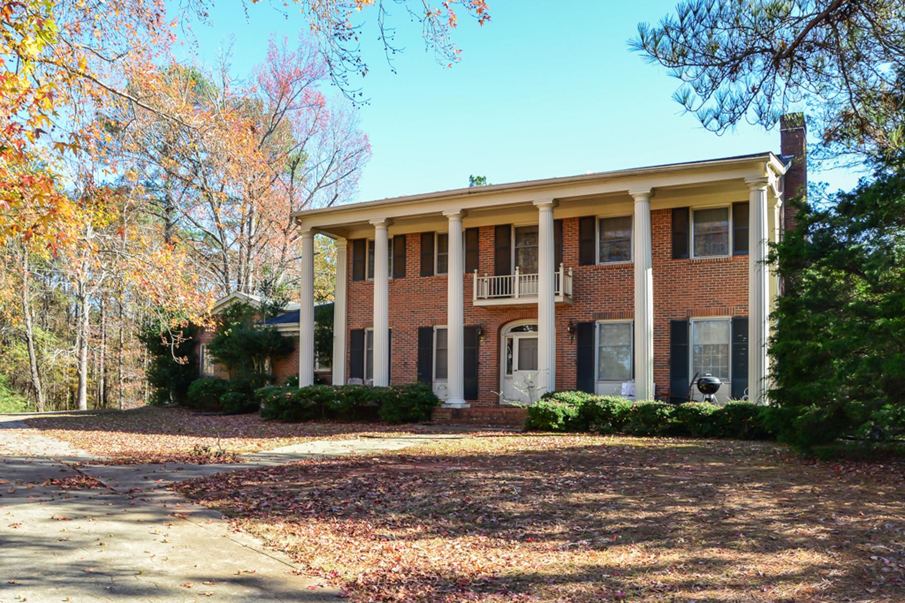 Enfamiljshus för Försäljning vid 54 Acre Horse Farm 2660 Old Salem Road SE Conyers, Georgien 30013 Usa