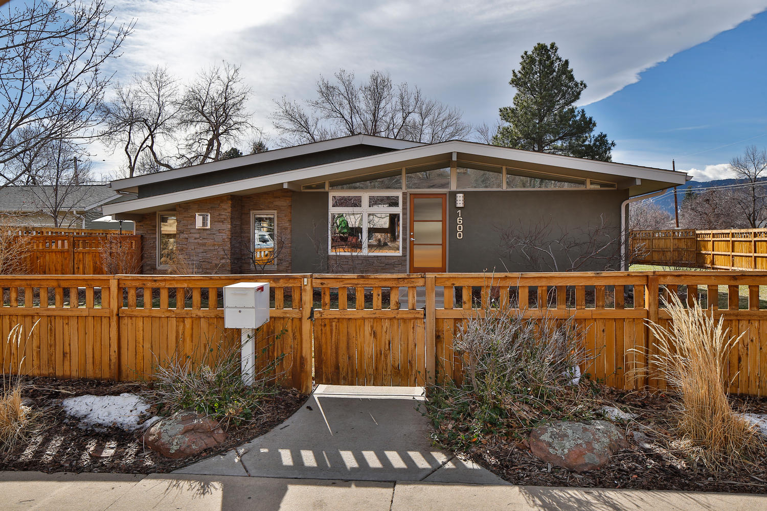 Single Family Home for Sale at Mid Century Modern in North Boulder 1600 Linden Ave Boulder, Colorado, 80304 United States