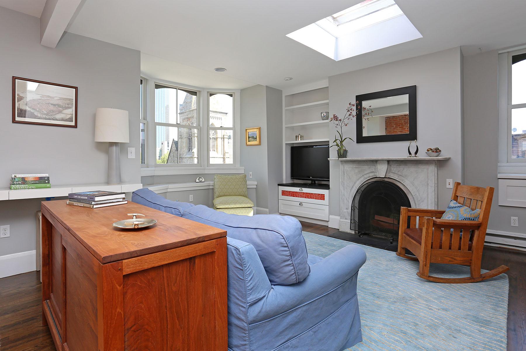 Кооперативная квартира для того Продажа на South End Condominium 496 Columbus Avenue Unit 6 South End, Boston, Массачусетс 02118 Соединенные Штаты