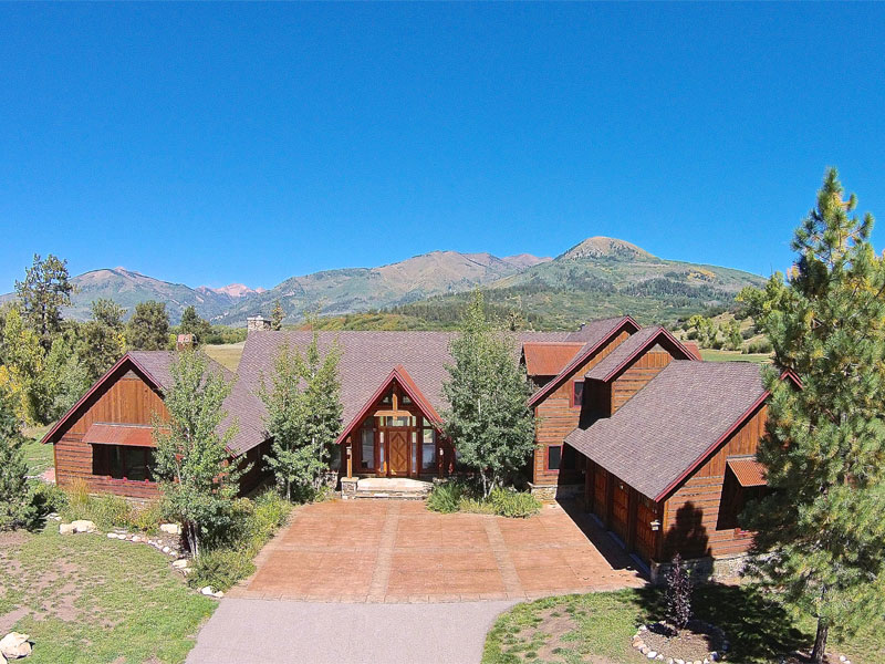 Granjas / Hacienda / Platanción por un Venta en Indian Shadow Ranch 572 CR 124 Hesperus, Colorado 81326 Estados Unidos