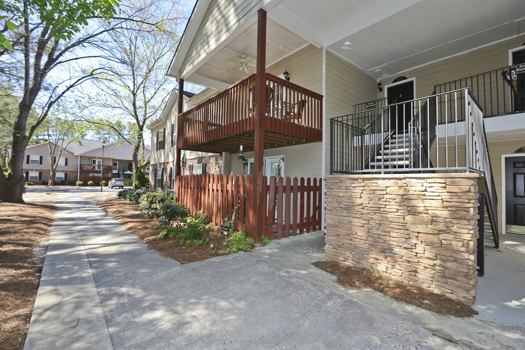 Condominium for Sale at Spacious, Open Plan Condominium 503 Brighton Point Atlanta, Georgia, 30328 United States