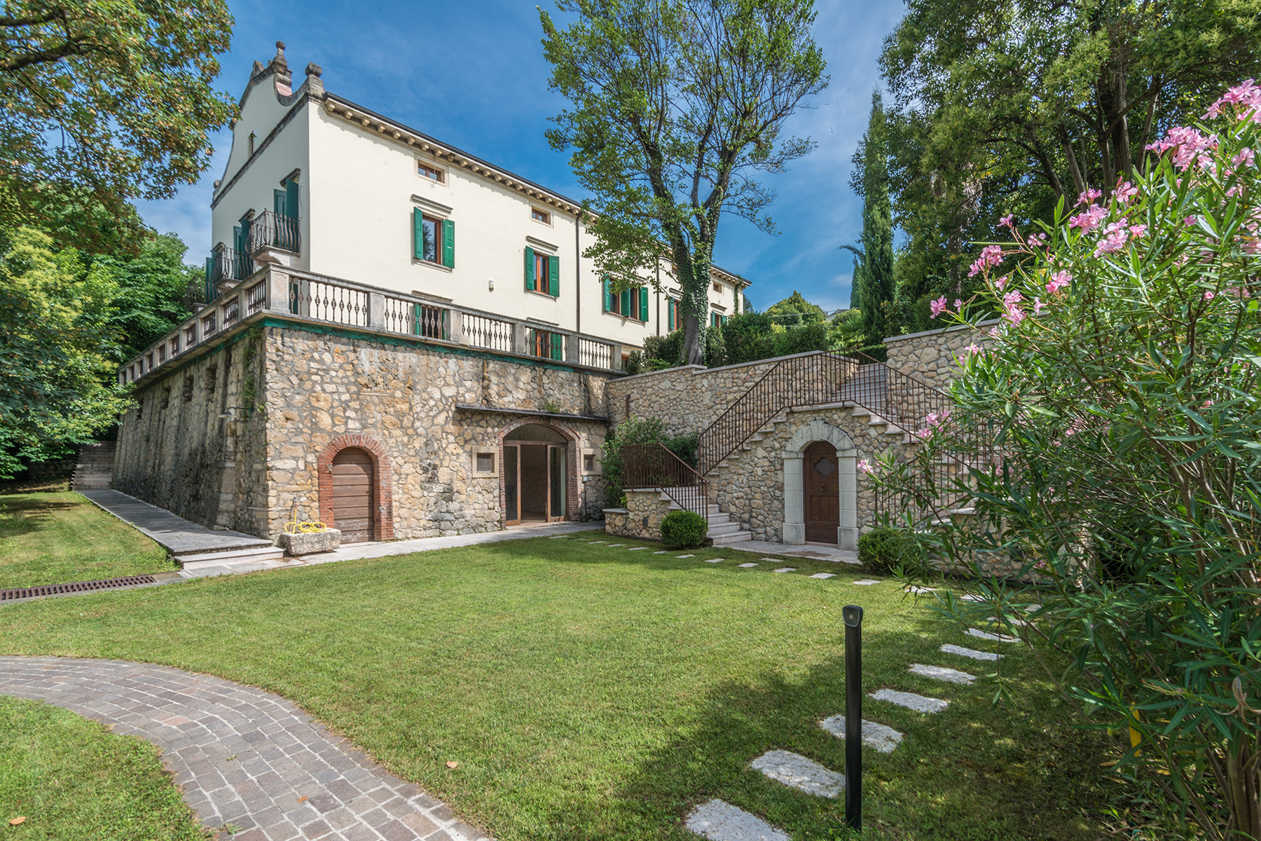 Single Family Home for Sale at Antique villa immersed in the Verona hills via Sparavieri Other Verona, Verona 37024 Italy