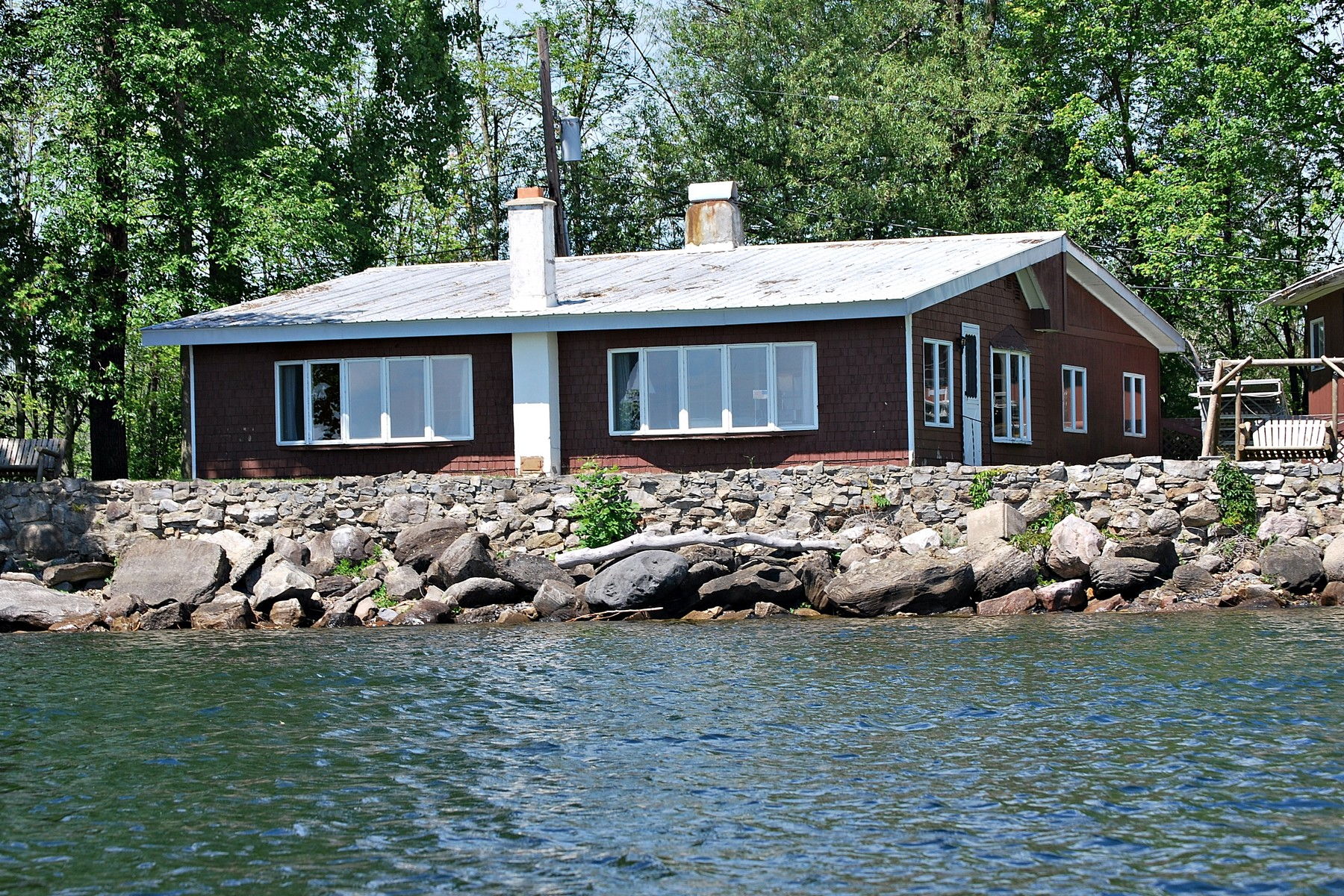 Single Family Home for Sale at Lake Champlain Cottages 111 Stony Point Road Champlain, New York 12919 United States