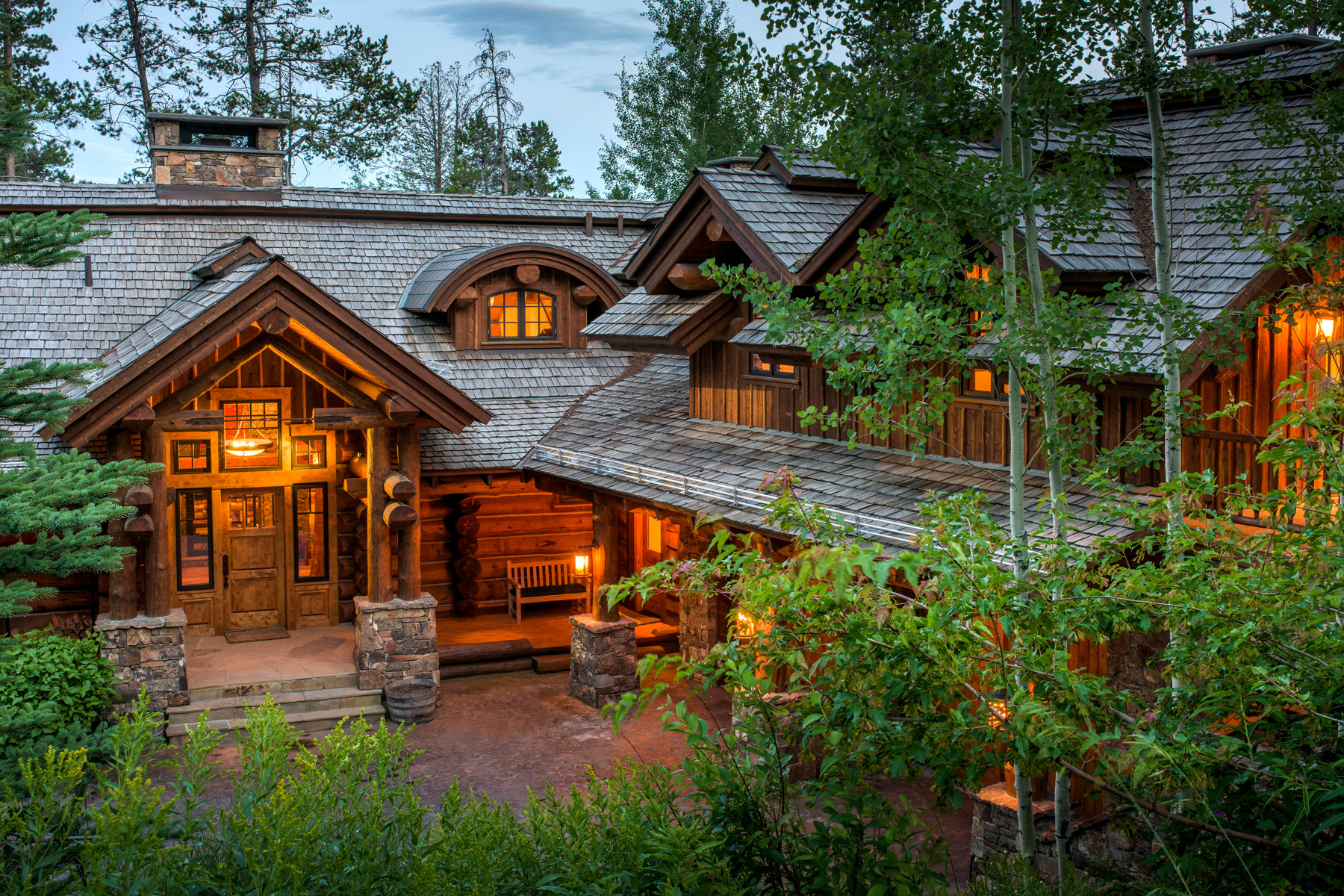 Maison unifamiliale pour l Vente à Mountain Ski Home 7875 N Granite Ridge Road Teton Village, Wyoming, 83024 Jackson Hole, États-Unis