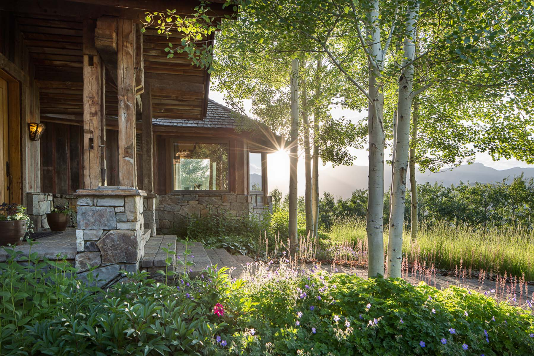 sales property at Rustic Elegance & Commanding Teton Views at Spring Creek Resort.