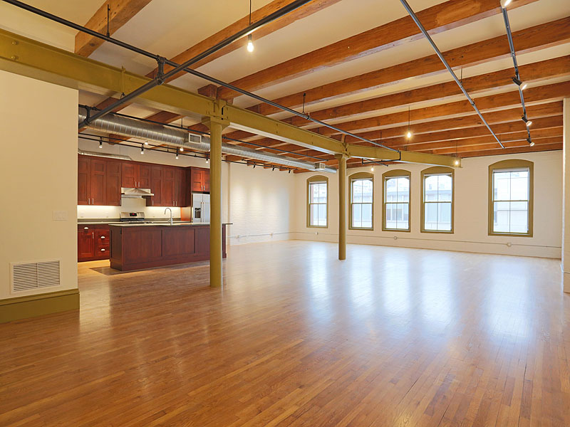 rentals property at Spacious Open Style Loft Apartment in the Leather District