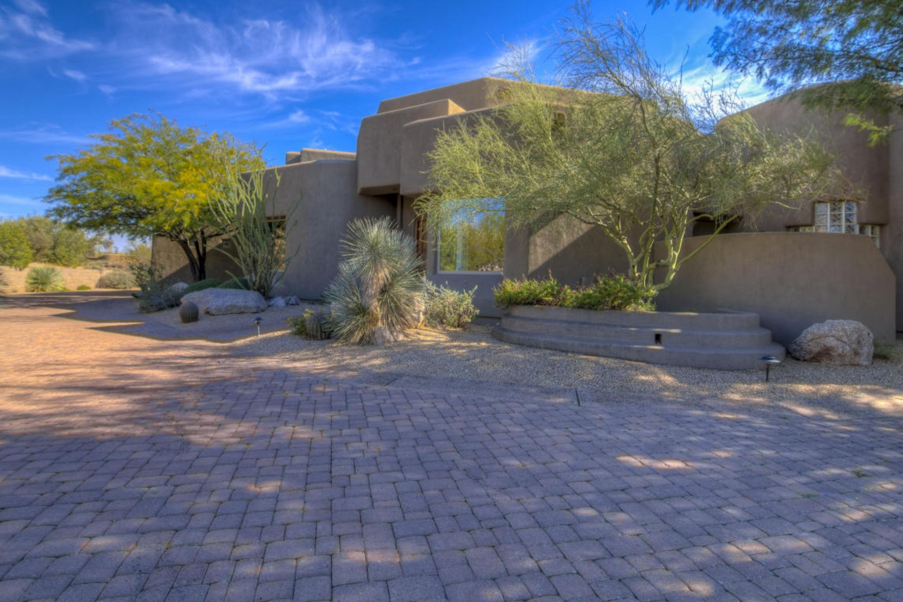 rentals property at Contemporary Southwest custom home in the famous Boulders Community