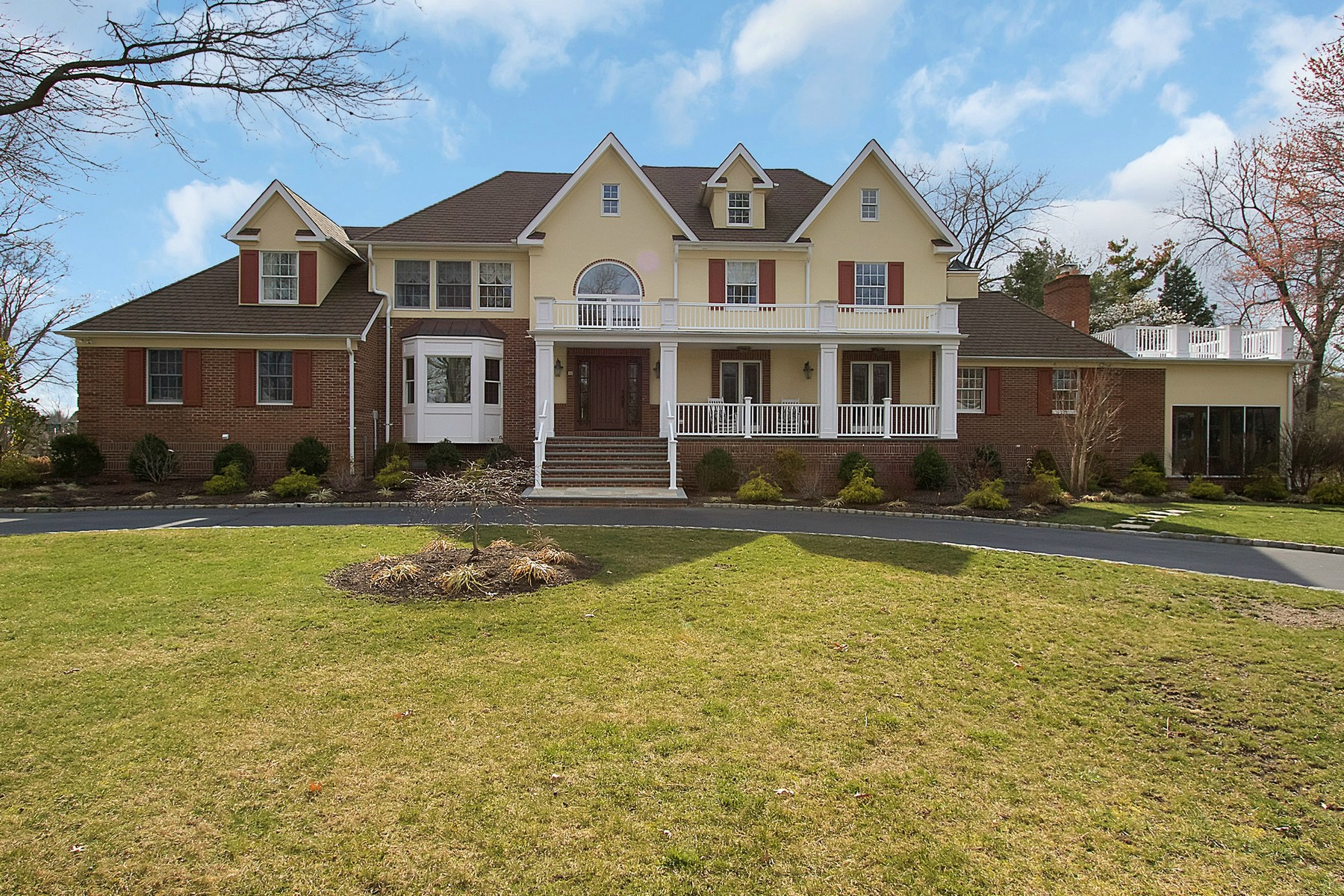 Single Family Home for Sale at Sophisticated Colonial 44 Wardell Avenue Rumson, New Jersey, 07760 United States