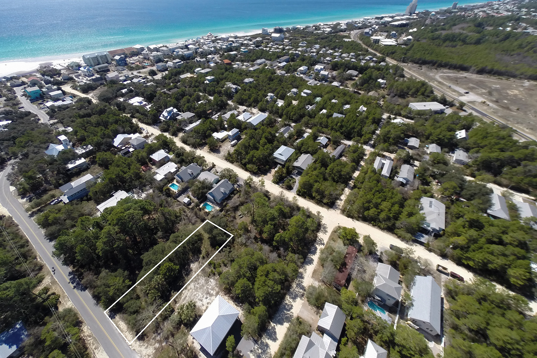 Land for Sale at TWO LOTS OFF EASTERN LAKE SOUTH OF 30A Lot 3 Gulf South Drive Santa Rosa Beach, Florida, 32459 United States