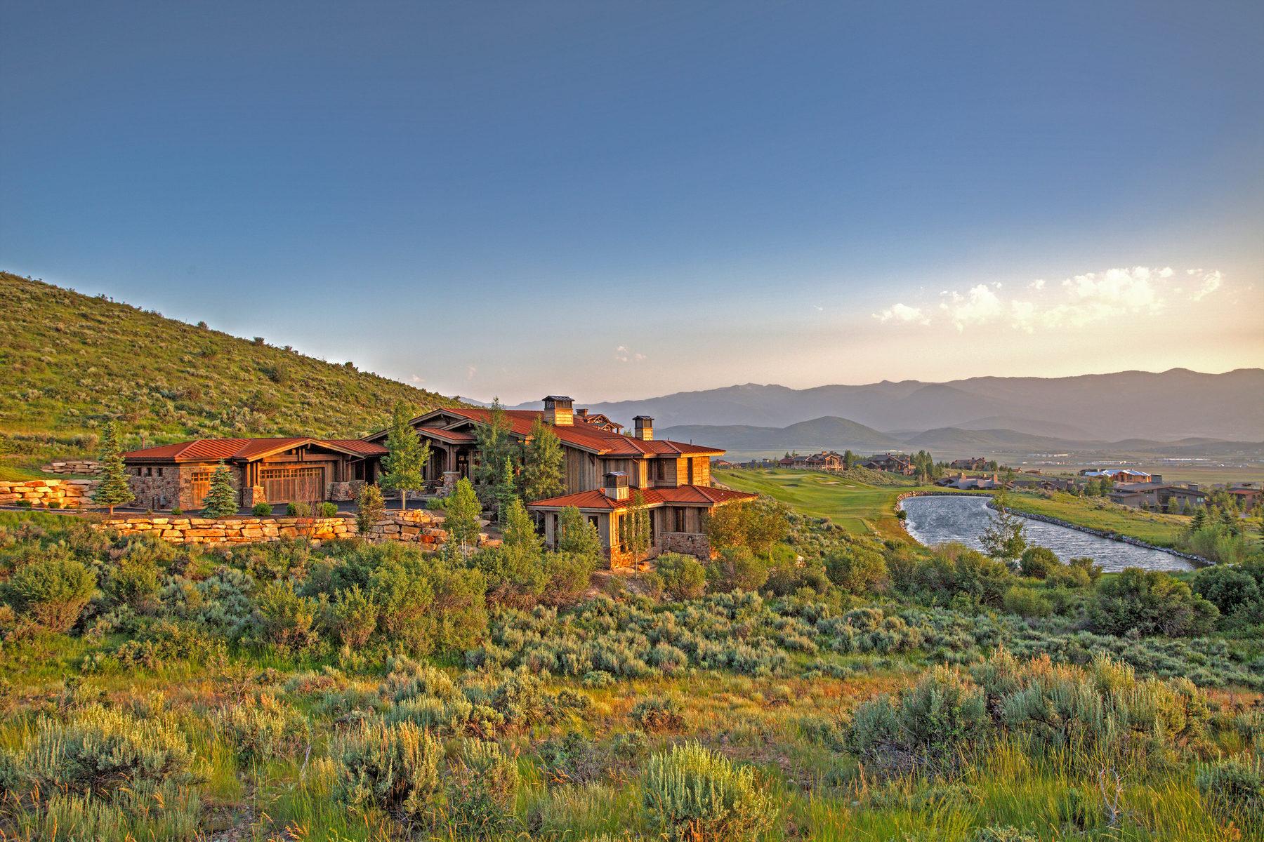 Частный односемейный дом для того Продажа на This Is The Wow Home On The Wow Lot In All Of Promontory 3347 E Pete Dye Draw Park City, Юта, 84098 Соединенные Штаты