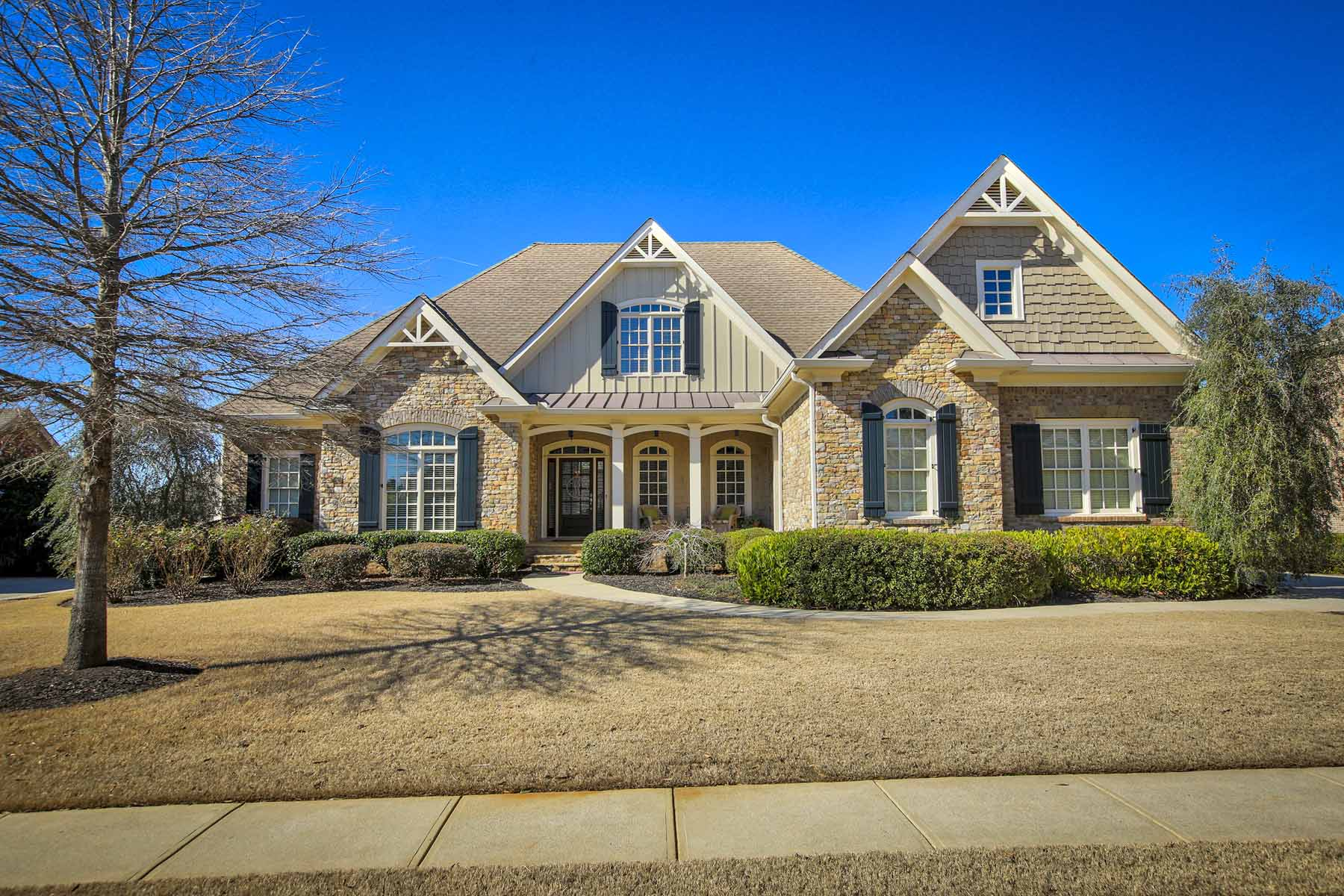 Single Family Home for Sale at Spectacular Dream Kitchen 3830 Preserve Crossing Lane Cumming, Georgia, 30040 United States