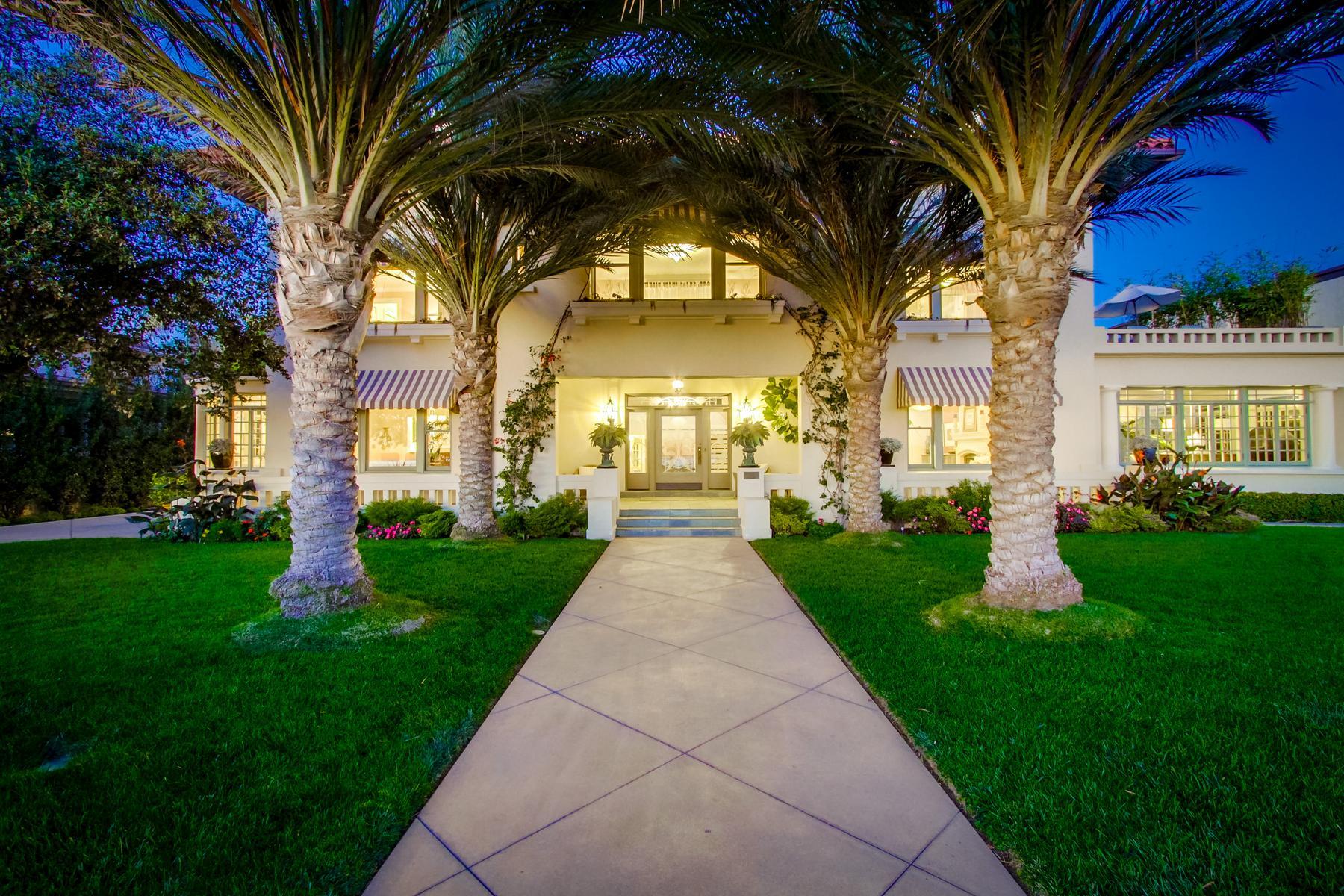 Частный односемейный дом для того Продажа на 1043 Ocean Boulevard Coronado, 92118 Соединенные Штаты