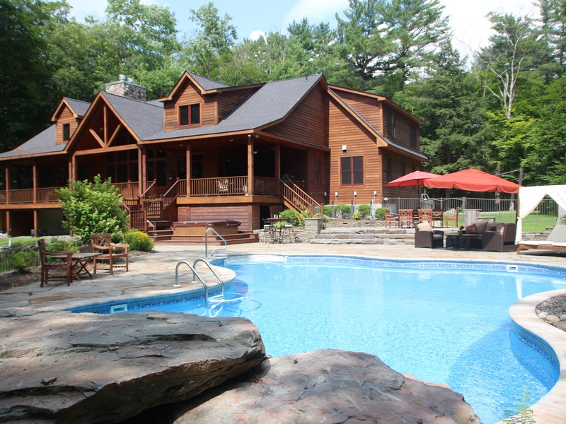Single Family Home for Sale at Majestic Wooded Paradise at The Chapin Estate 252 Woodstone Trl Bethel, New York 12720 United States