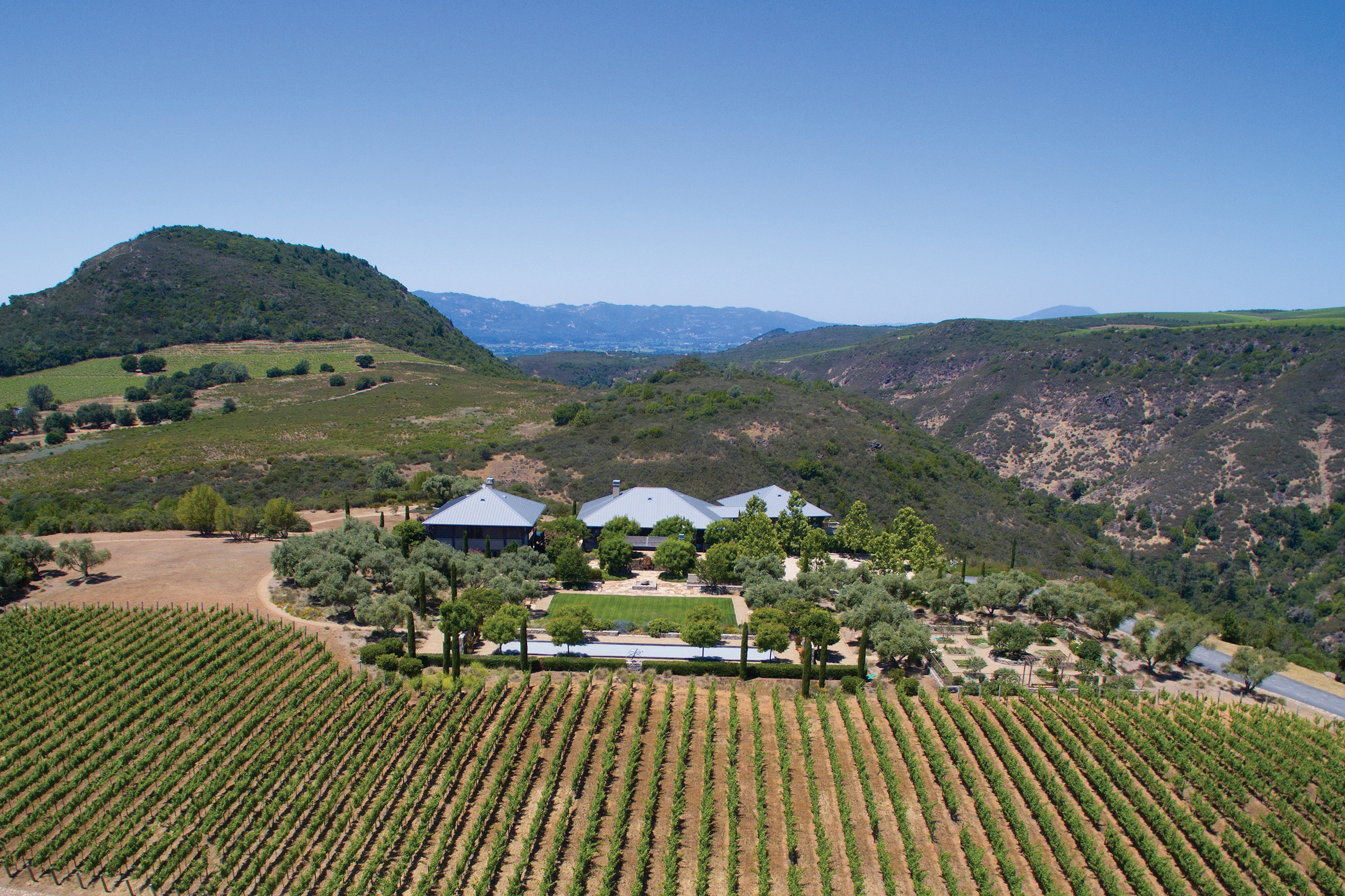 Single Family Home for Sale at Stunning World-Class Vineyard Retreat 3201 Soda Canyon Road Napa, California 94558 United States