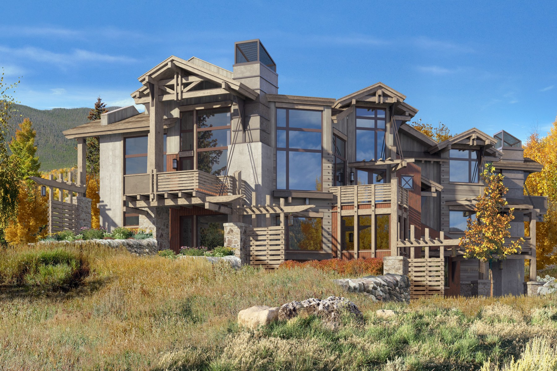 Single Family Home for Sale at Resolution Homes 270 Giberson Road Frisco, Colorado, 80443 United States