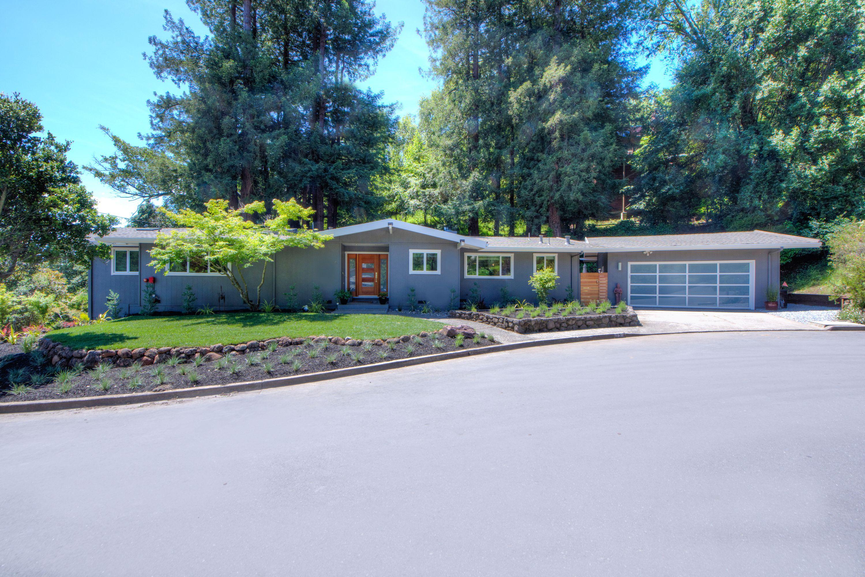 一戸建て のために 売買 アット Stylish Modern in Mill Valley 15 Middle Court Mill Valley, カリフォルニア, 94941 アメリカ合衆国