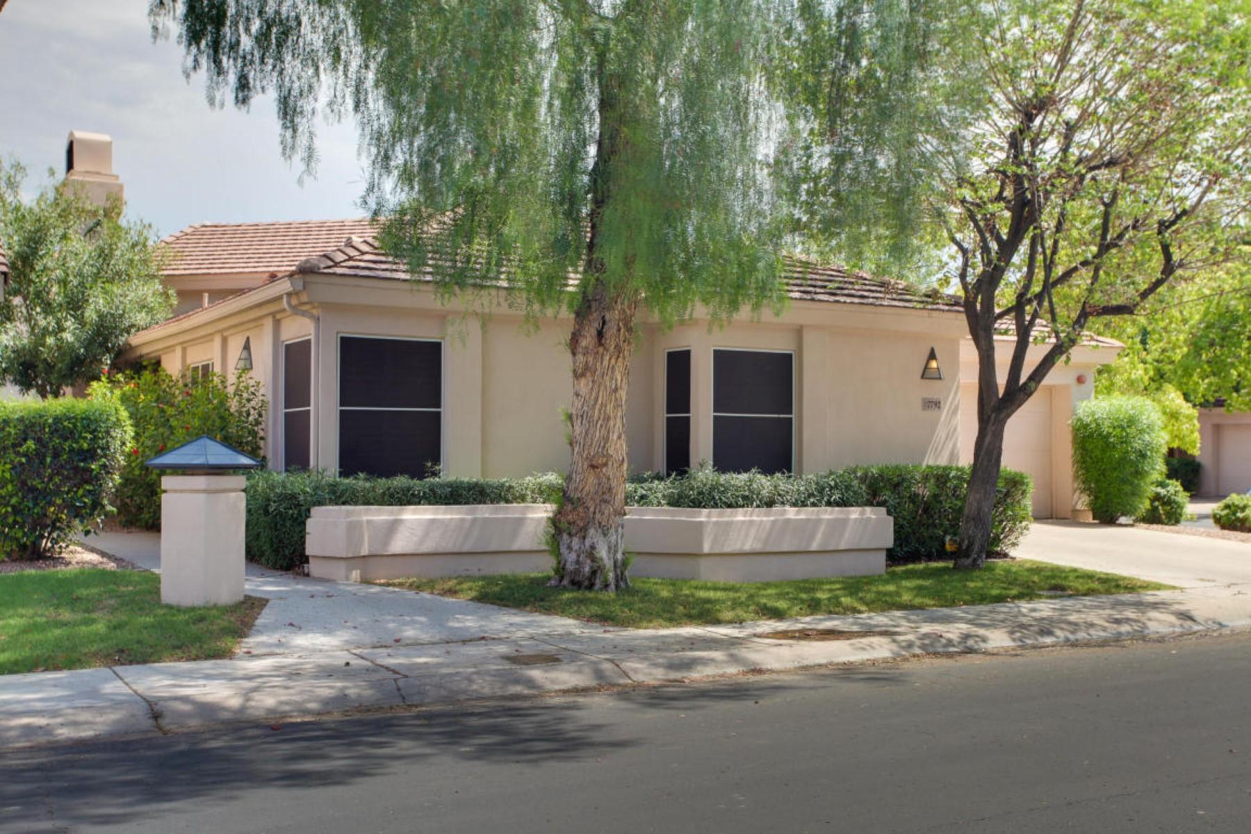獨棟家庭住宅 為 出售 在 Meticulously maintained home. 7792 E Foxmore Ln Scottsdale, 亞利桑那州 85258 美國