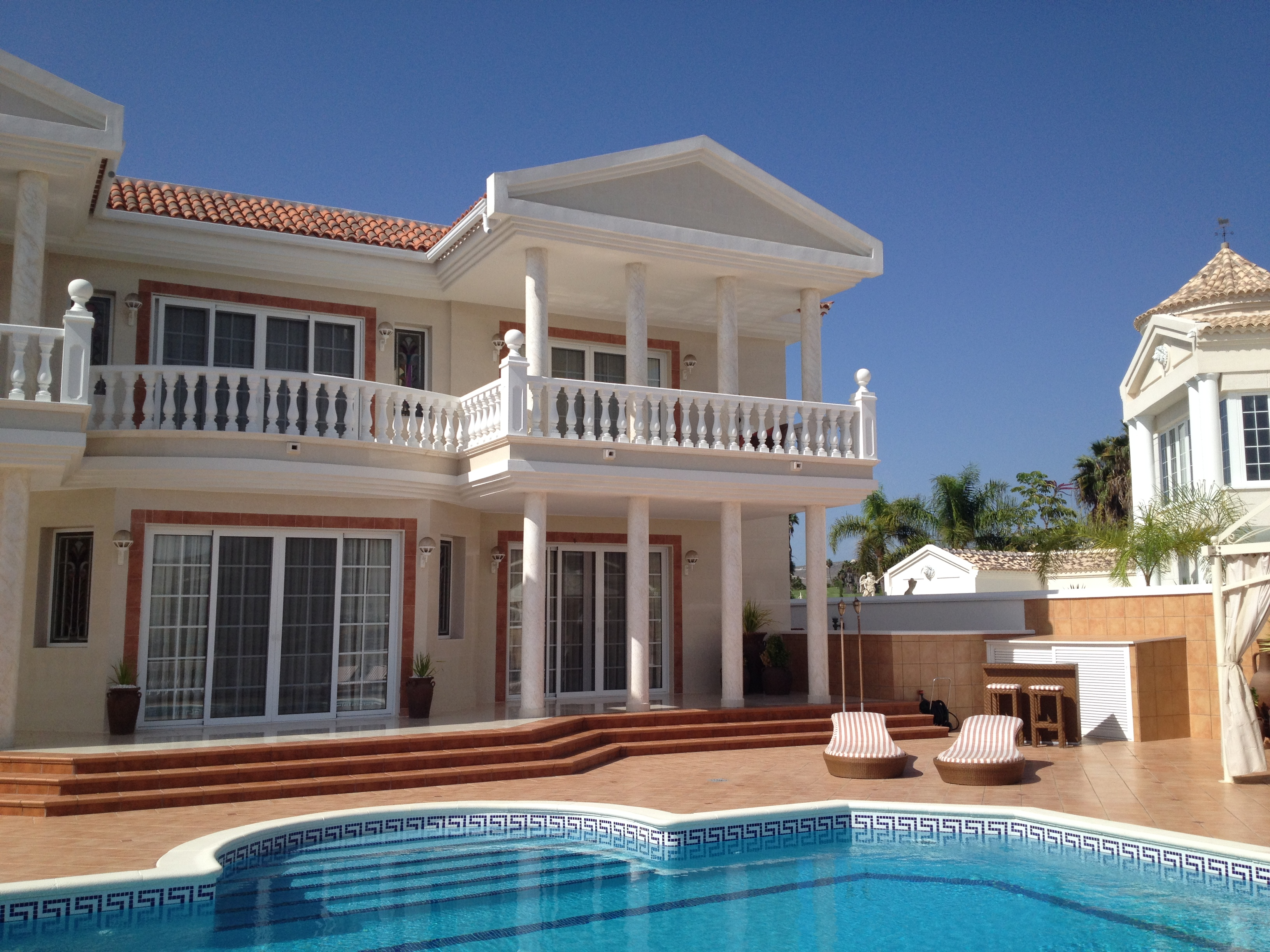 Tek Ailelik Ev için Satış at Villa Montana Adeje, Tenerife Canary Islands Ispanya