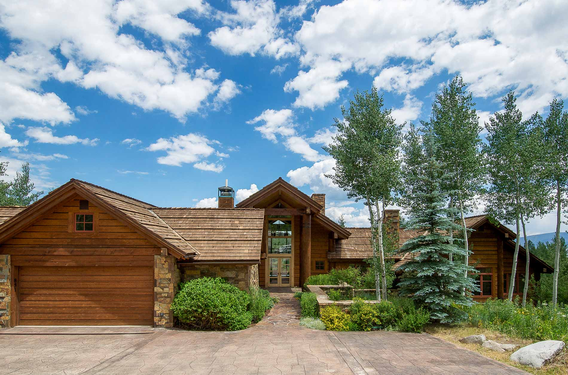Single Family Home for Sale at Woodrun I Lot 2 851 Wood Road Snowmass Village, Colorado 81615 United States