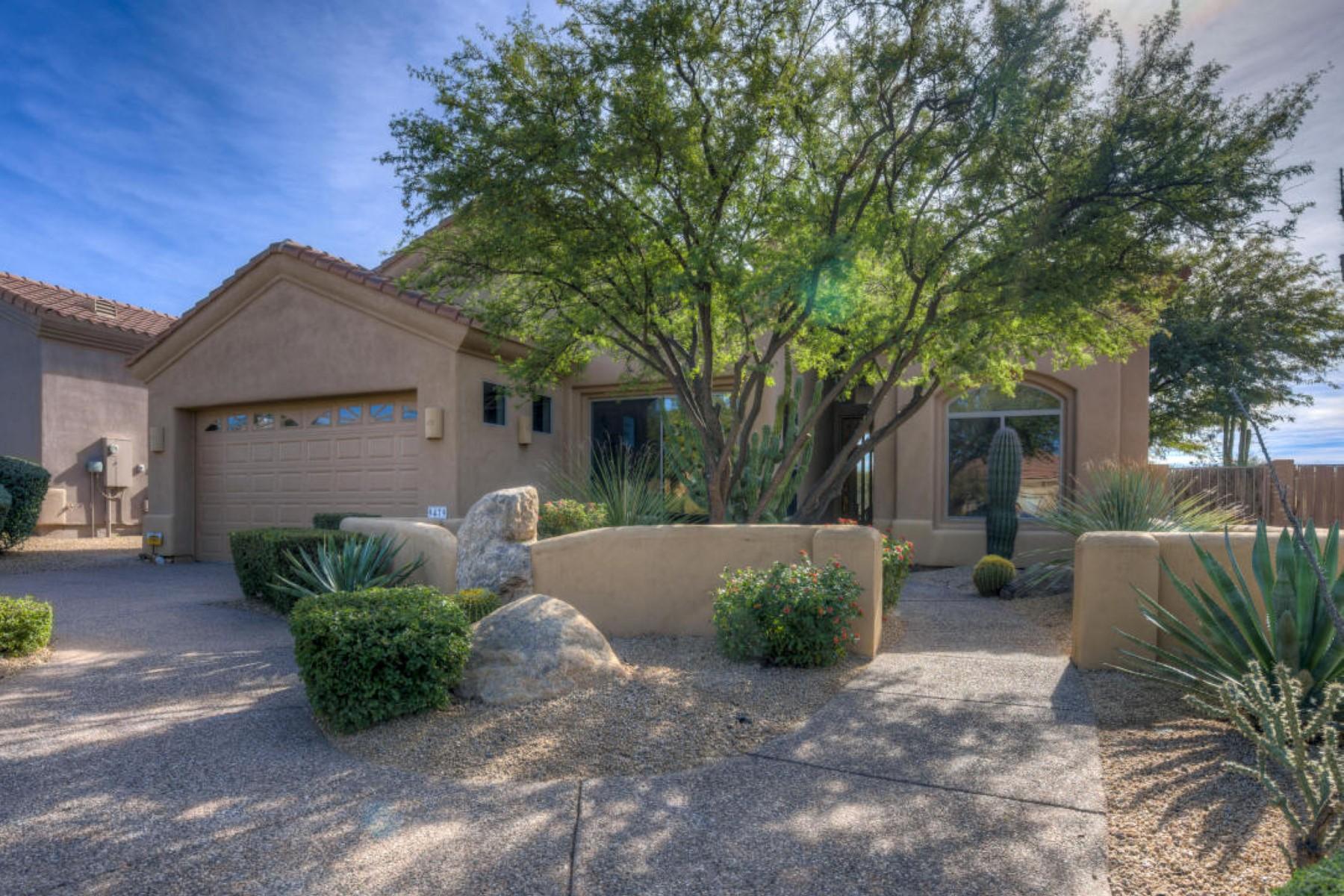 Villa per Vendita alle ore Single Level Model Home with Privacy and Views 9479 E Whitewing Dr Scottsdale, Arizona 85262 Stati Uniti