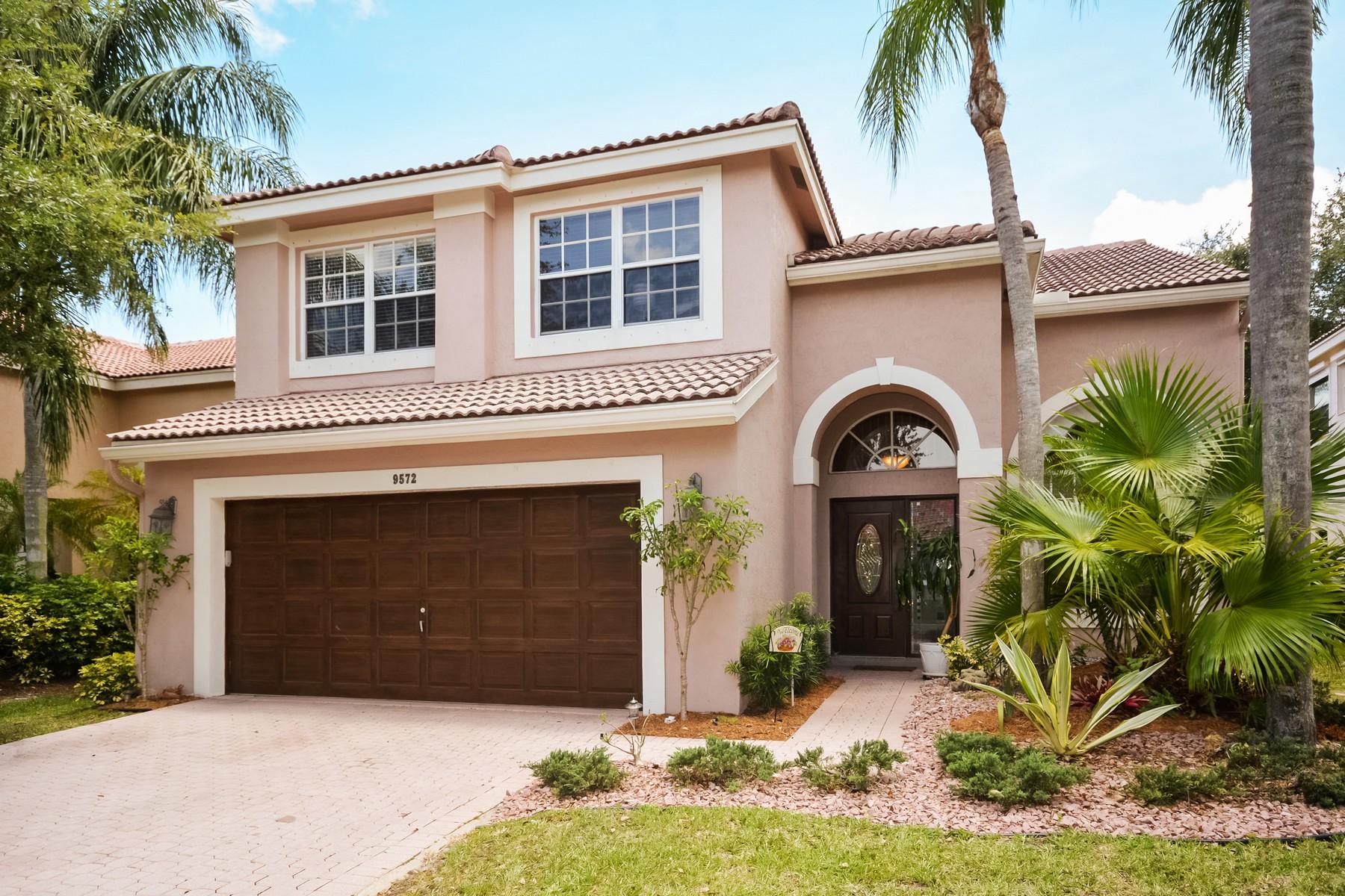 단독 가정 주택 용 매매 에 9572 Fox Trot Ln , Boca Raton, FL 33496 9572 Fox Trot Ln Boca Raton, 플로리다 33496 미국