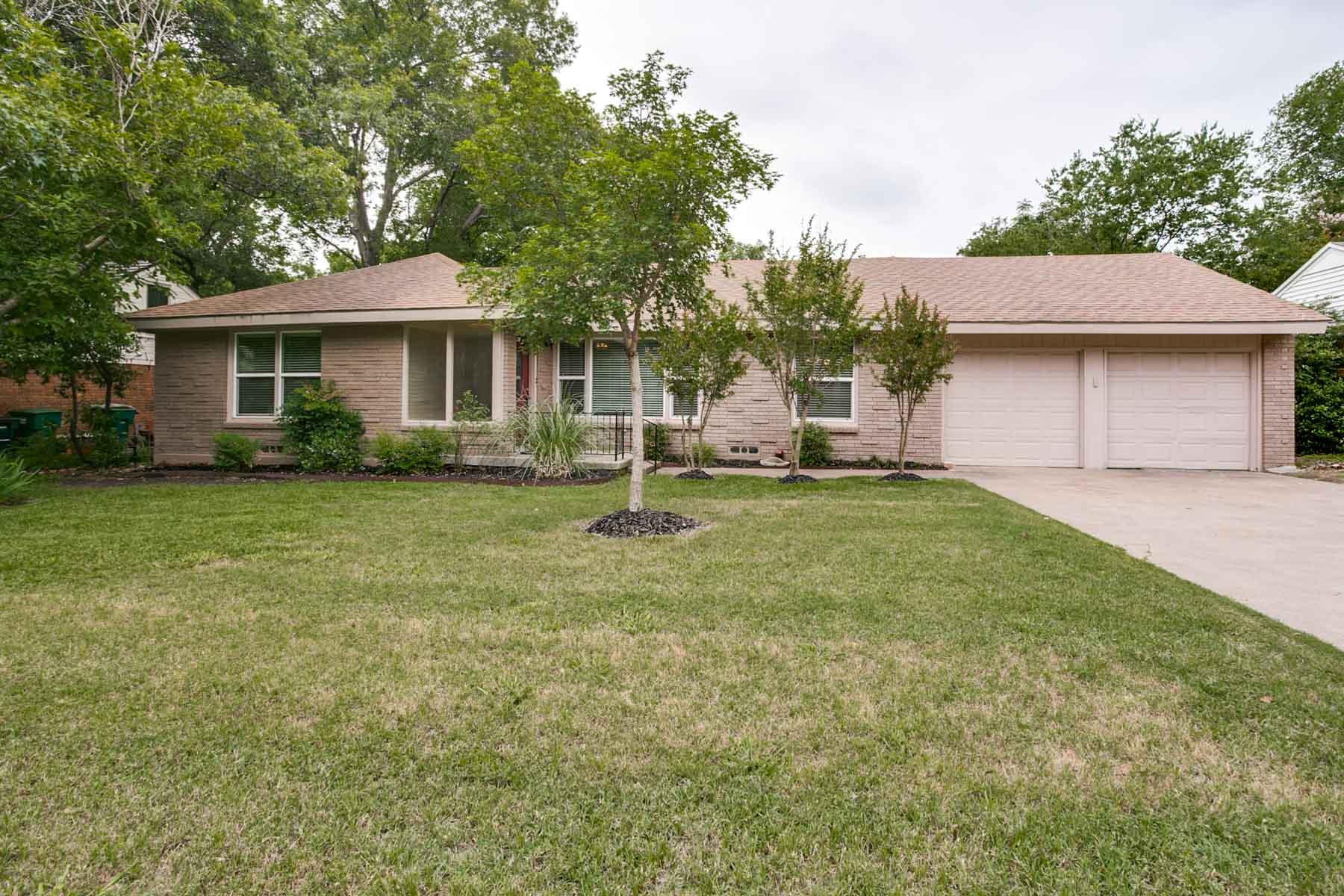 独户住宅 为 销售 在 Westcliff Gem 4616 Norwich Drive 沃斯堡市, 得克萨斯州, 76109 美国