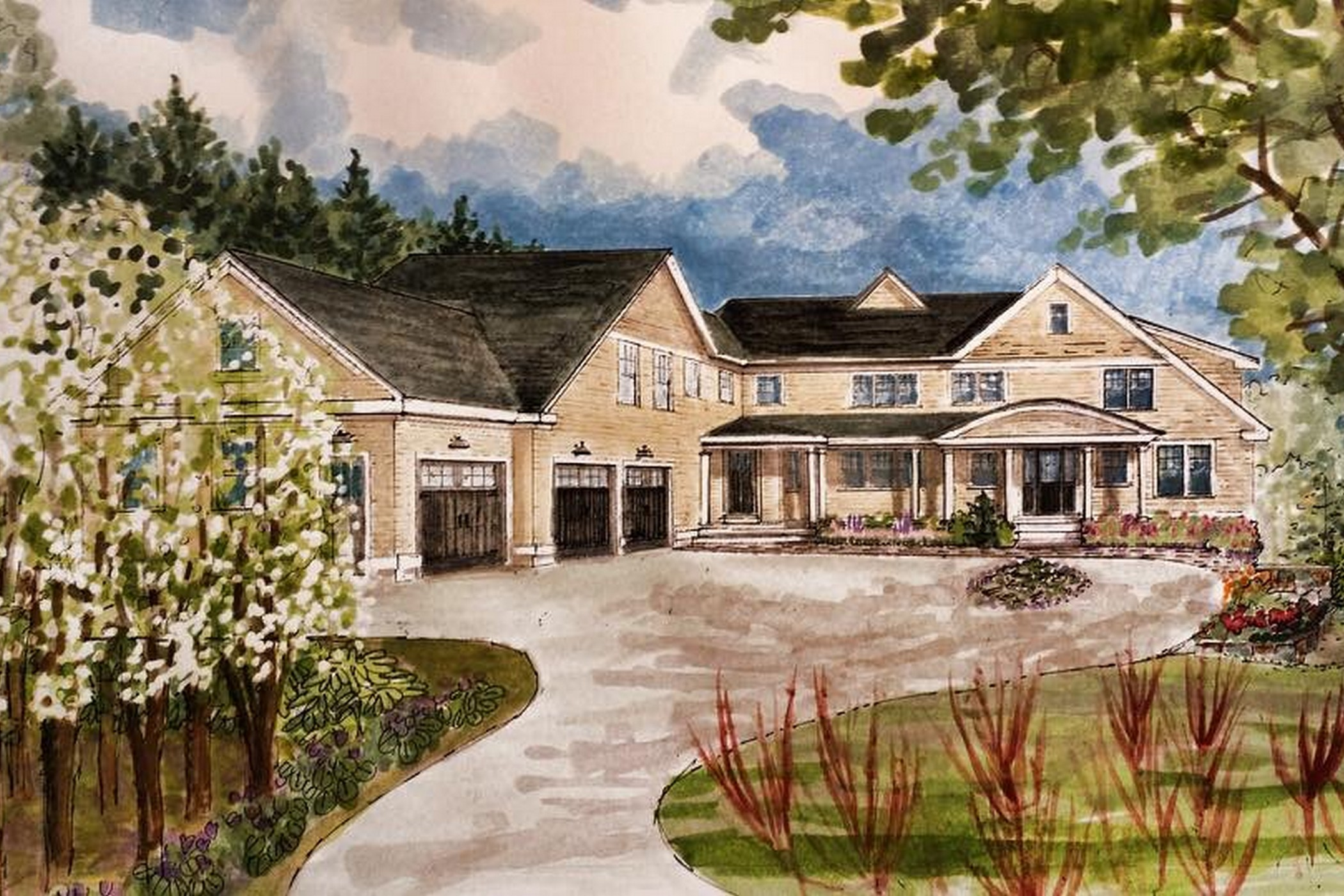 sales property at Elegan New Construction Shingle Style
