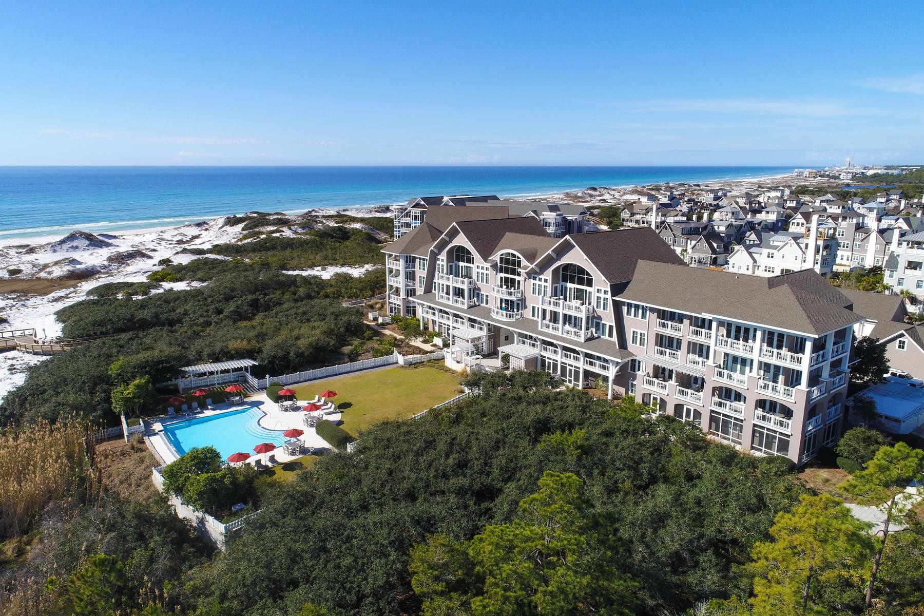 共管式独立产权公寓 为 销售 在 TOP FLOOR PENTHOUSE STYLE UNIT WITH EXPANSIVE GULF VIEWS 37 Compass Point Way 421 Watersound, 佛罗里达州, 32461 美国
