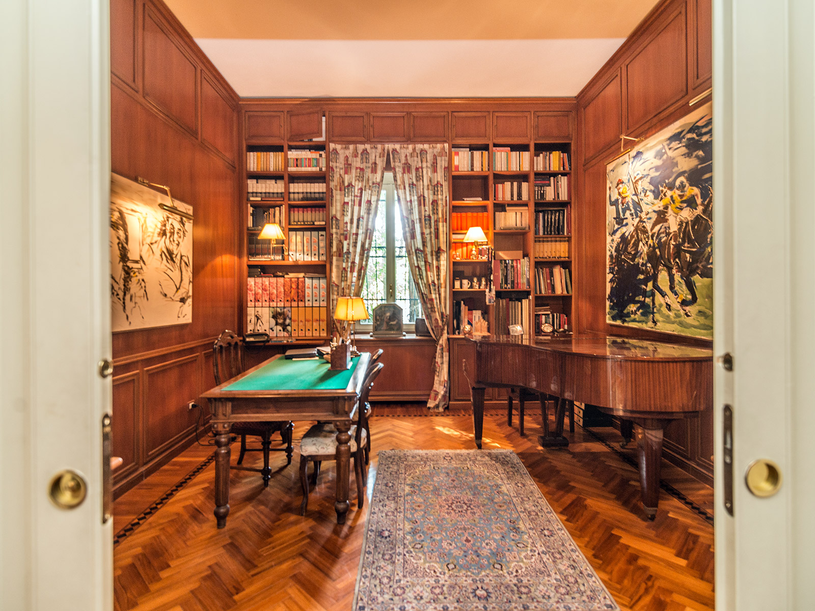 Additional photo for property listing at Elegant three story Art Nouveau villa Piazza Amendola Milano, Milan 20145 Italy