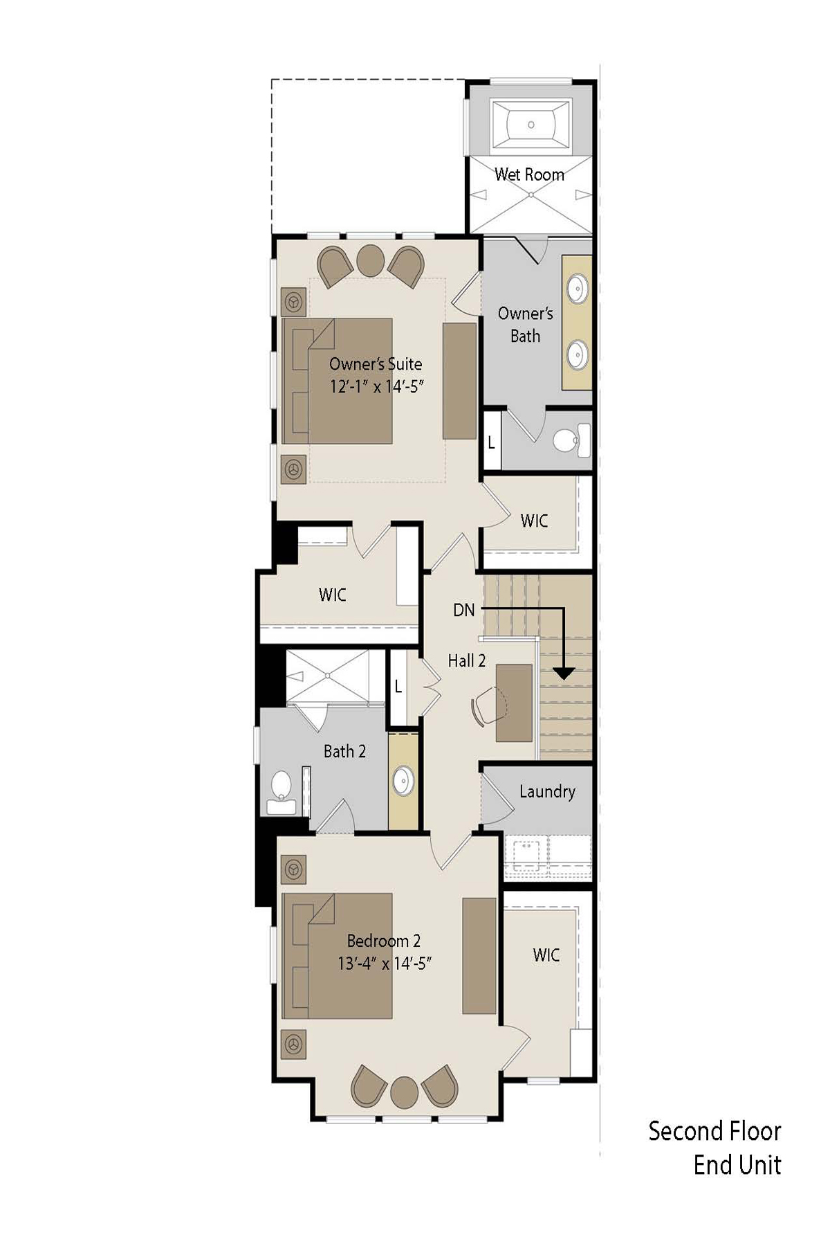 Additional photo for property listing at Luxury Townhome Next To Blackburn Park 3555 Blair Circle Atlanta, Georgia 30319 États-Unis