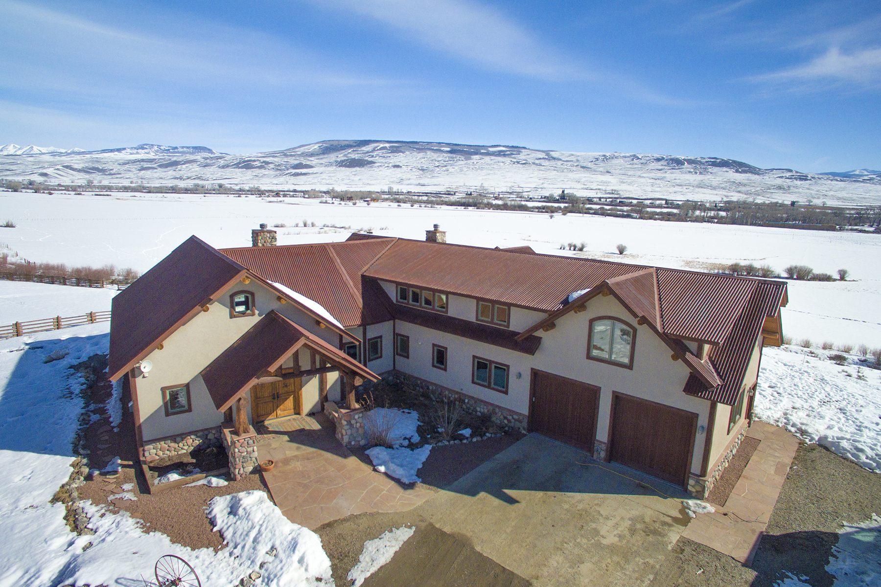 Single Family Home for Sale at Ohio Creek Valley Ranch 1141 County Road 818 Gunnison, Colorado, 81230 United States