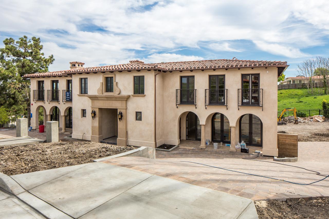 Частный односемейный дом для того Продажа на New Construction 980 Via Rincon Palos Verdes Estates, Калифорния, 90274 Соединенные Штаты