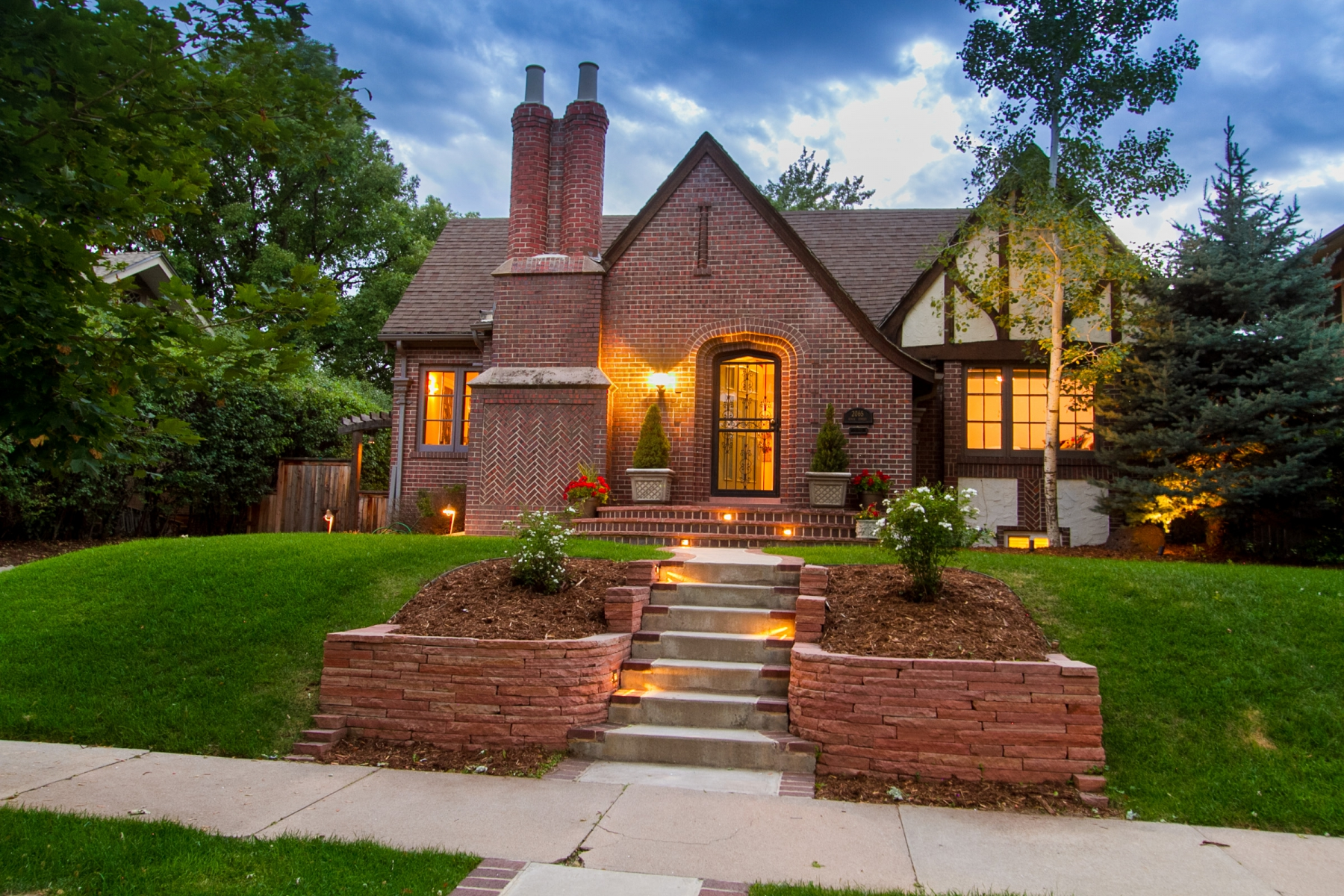 Single Family Home for Sale at Picturesque one-story Tudor in Park Hill 2065 Birch Street Denver, Colorado 80207 United States