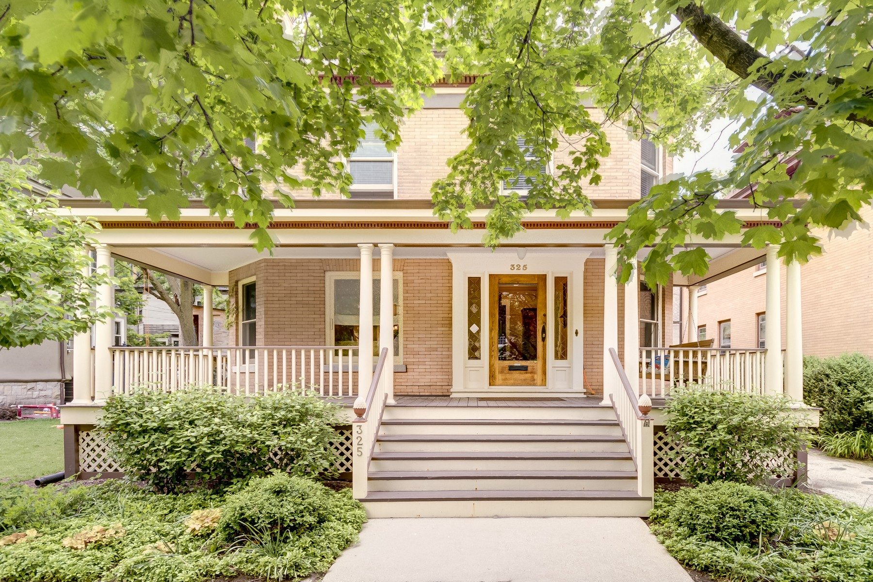 sales property at Lovely 1898 Brick Home Near Downtown Evanston