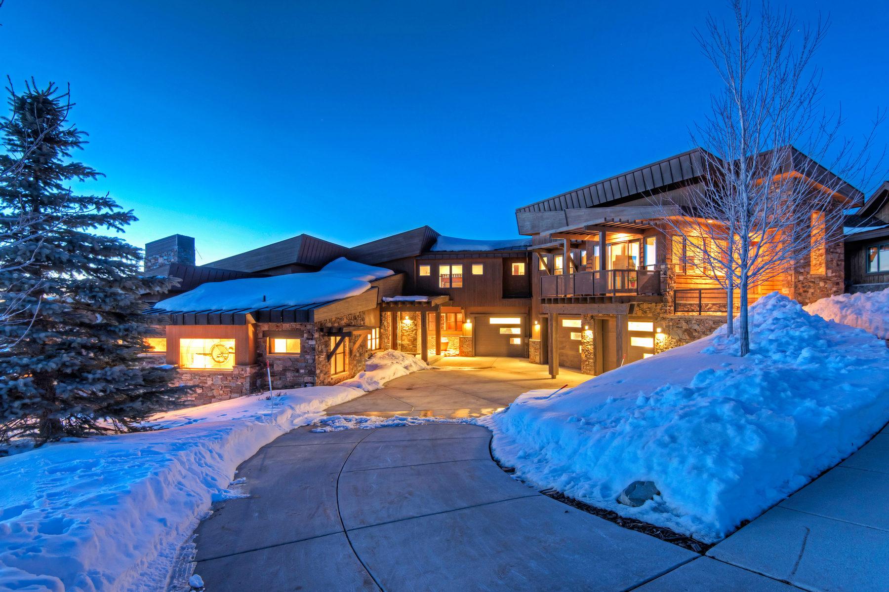 Частный односемейный дом для того Продажа на Painted Sky Views 7625 Outpost Way Park City, Юта, 84098 Соединенные Штаты