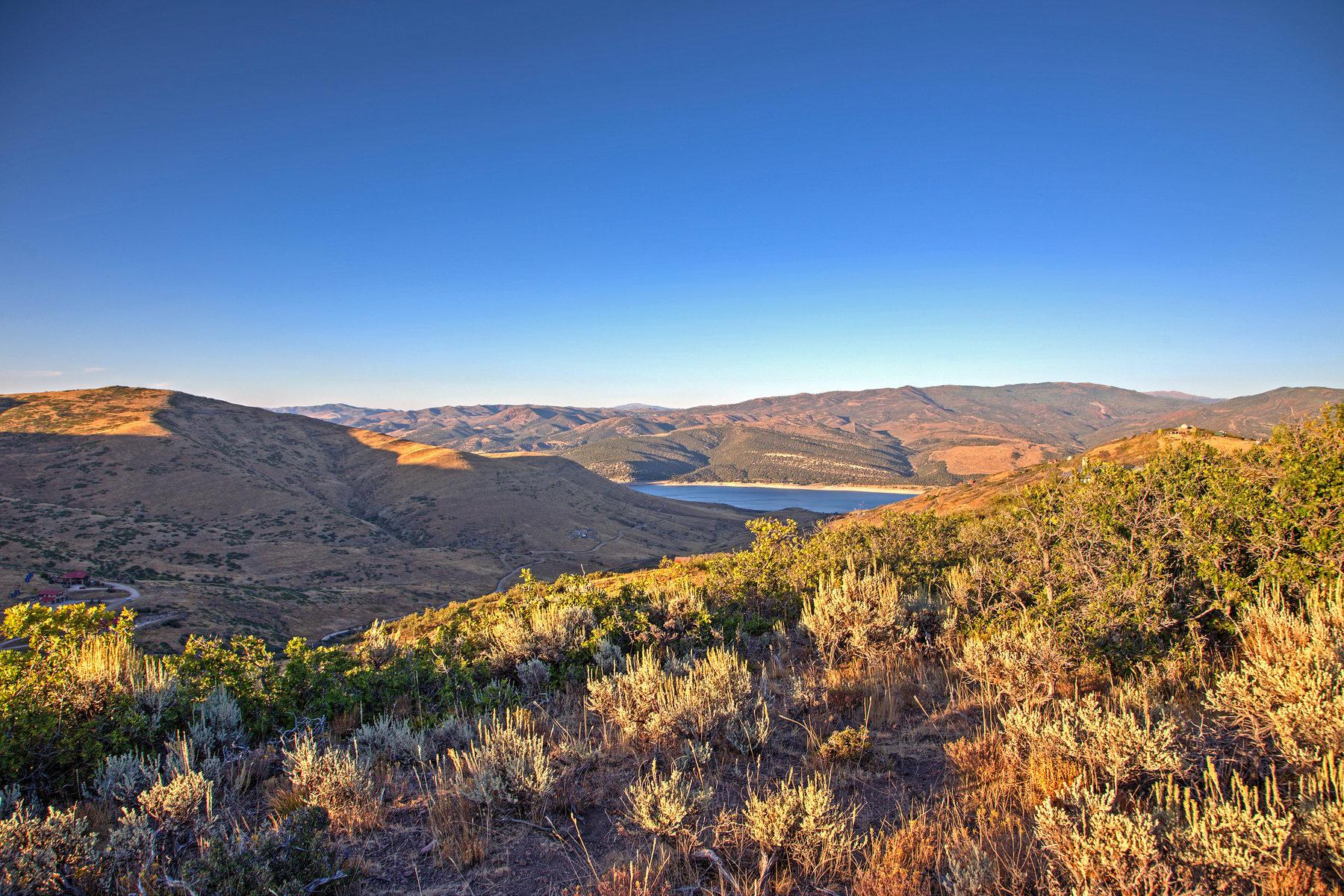 Terrain pour l Vente à Promontory View Homesite 3661 E Rockport Ridge Park City, Utah, 84098 États-Unis