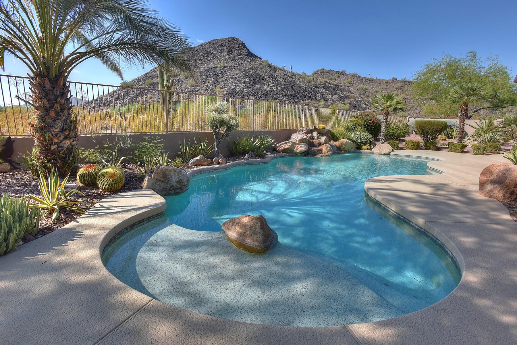 단독 가정 주택 용 매매 에 An executive home on a 1.15 acre Lot in a prestigious, gated community. 13284 E APPALOOSA PL Scottsdale, 아리조나 85259 미국