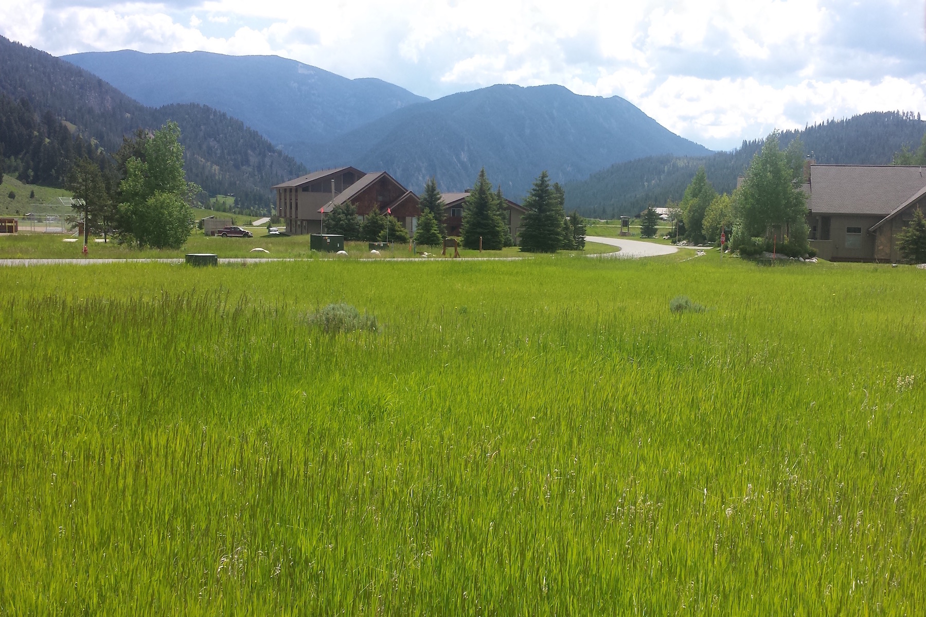 Land for Sale at Unique meadow property Little Coyote Road, Lot 32 Big Sky, Montana, 59716 United States