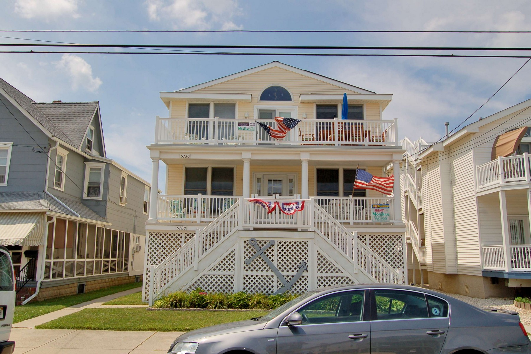 Condomínio para Venda às Beach Block Condo 5128 Central Avenue 1st Floor Ocean City, Nova Jersey, 08226 Estados Unidos