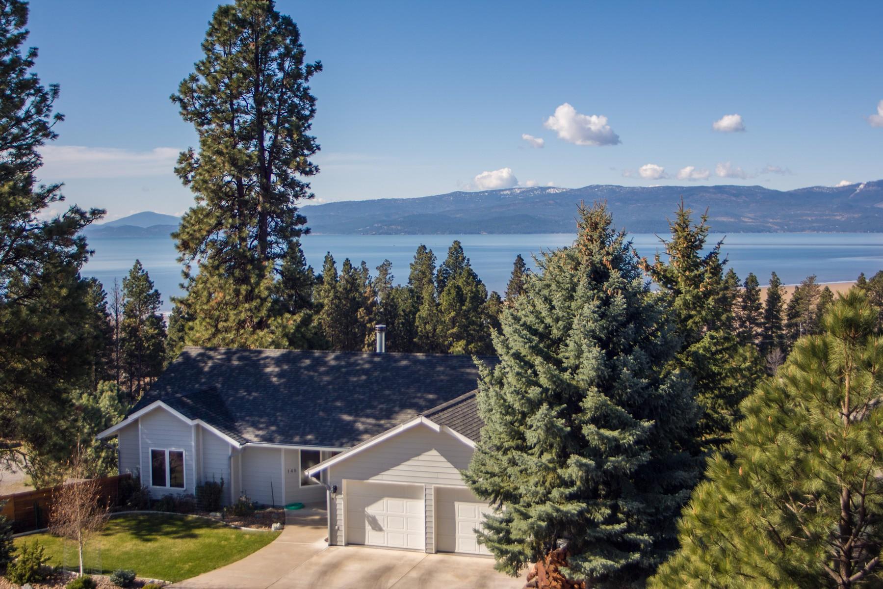 Casa Unifamiliar por un Venta en Bigfork Rancher 148 S. Crestview Terrace Bigfork, Montana 59911 Estados Unidos